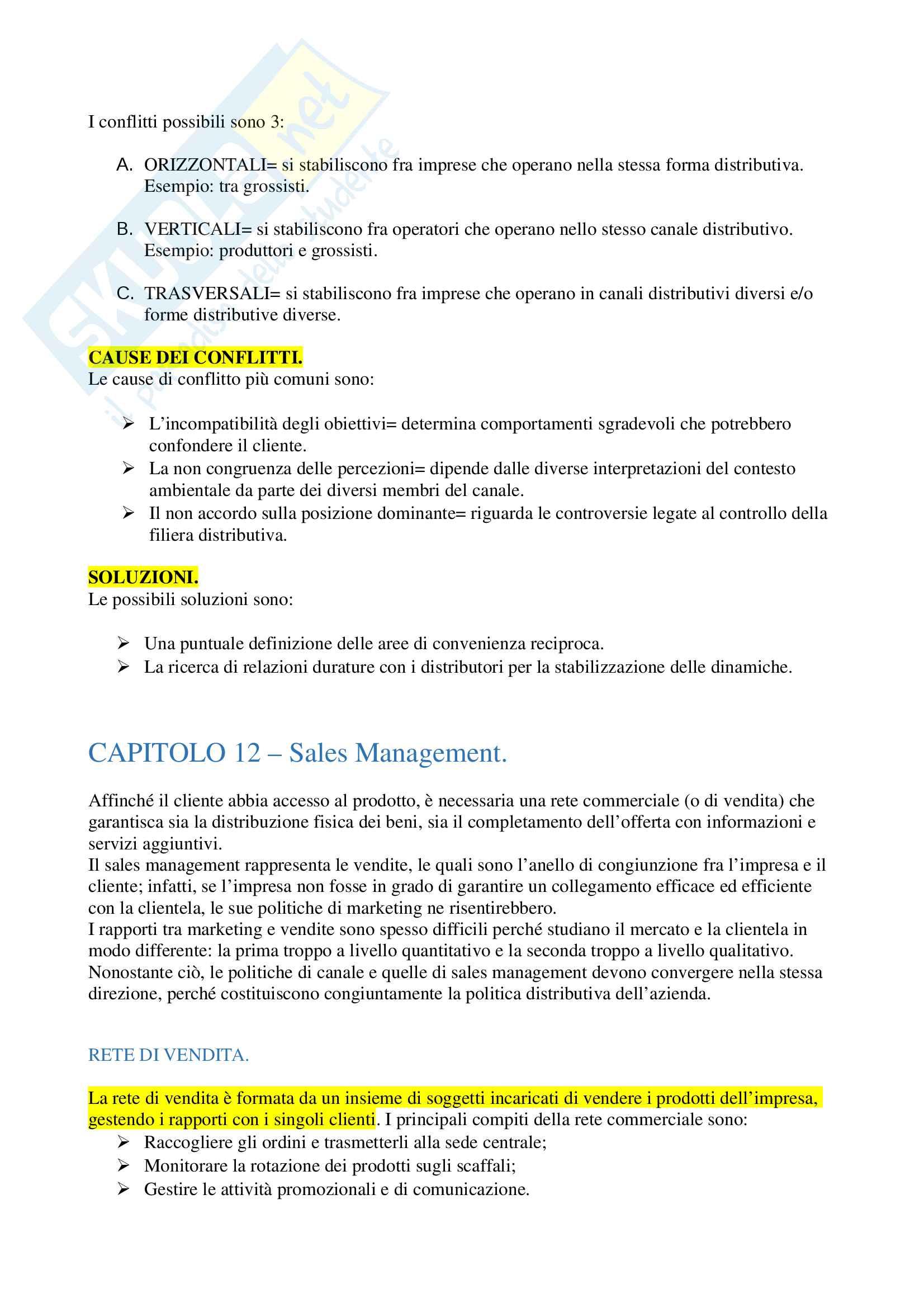 Riassunto esame Marketing Pag. 36