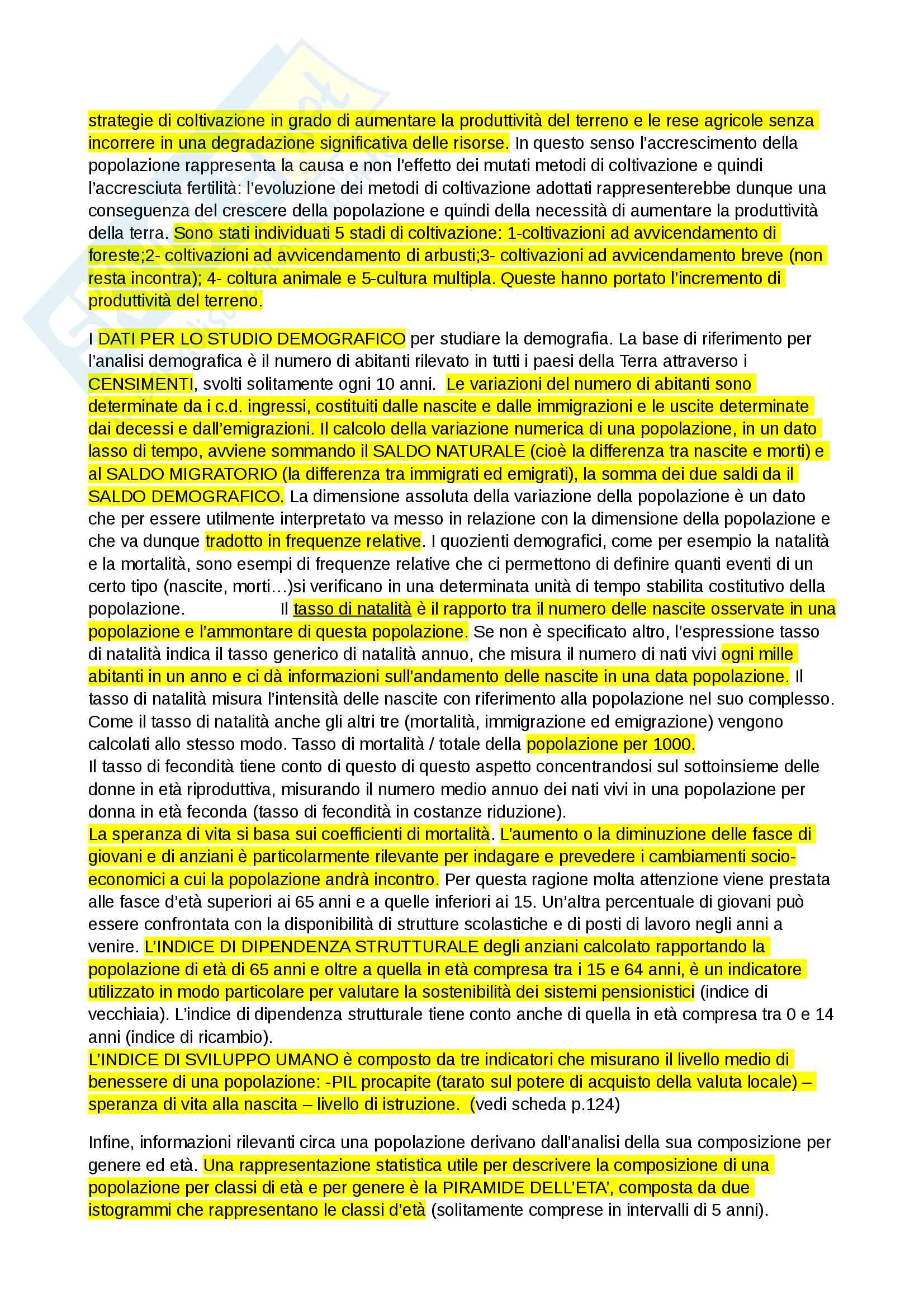Fondamenti di geografia 1 modulo Spinelli Pag. 21