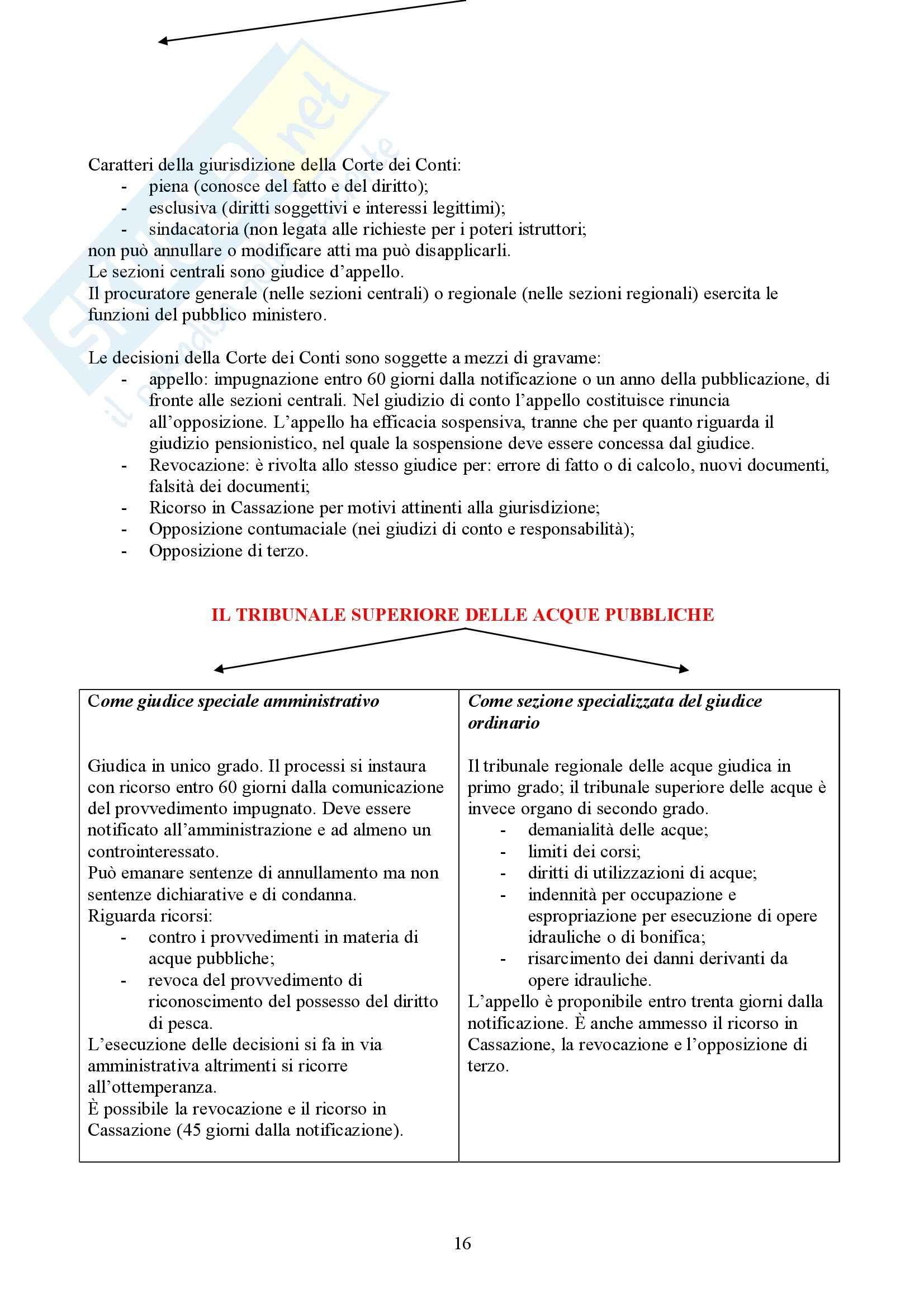 Diritto amministrativo - processo (schema) Pag. 16