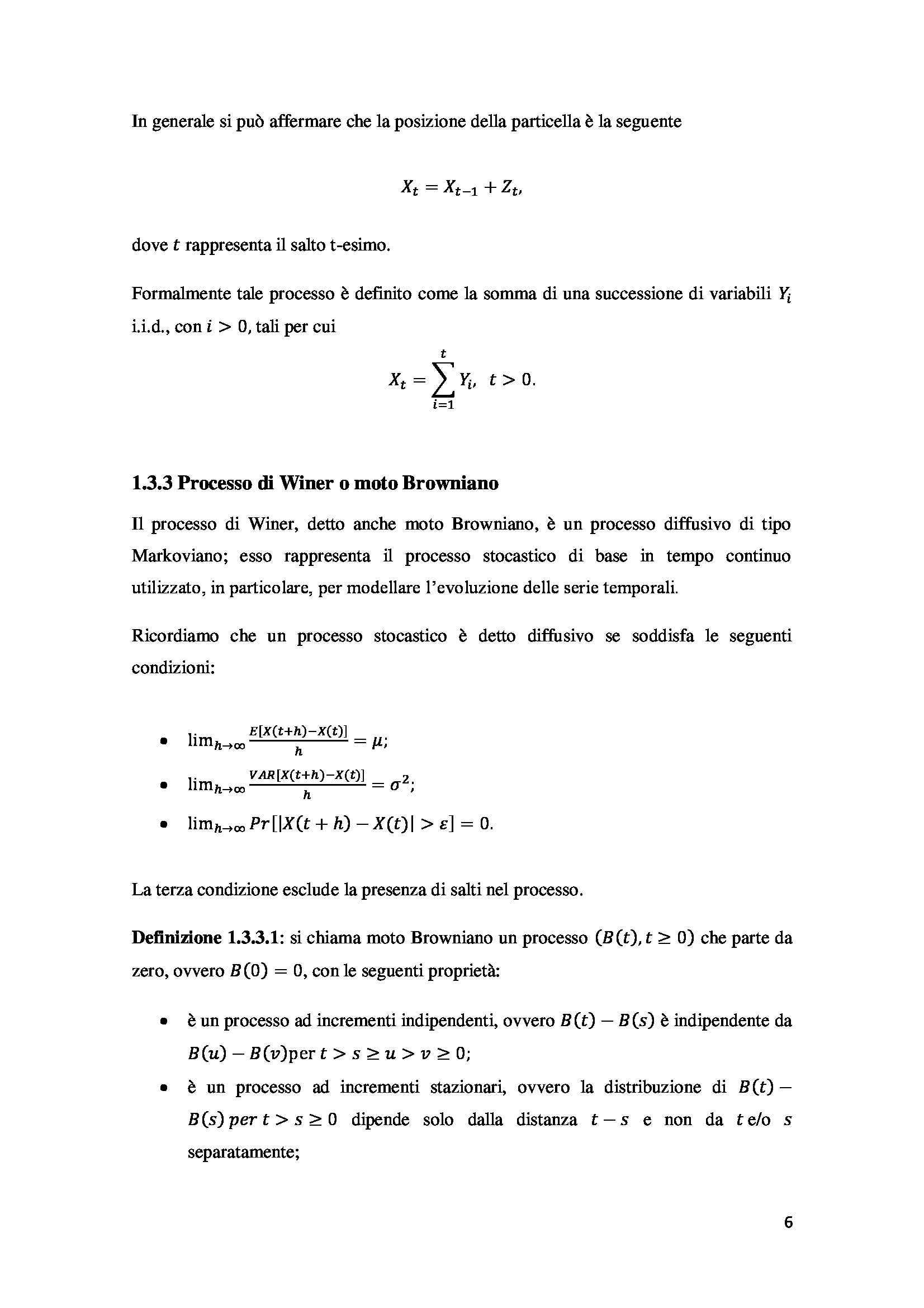 Tesi - Opzioni - metodi prezzatura Pag. 16