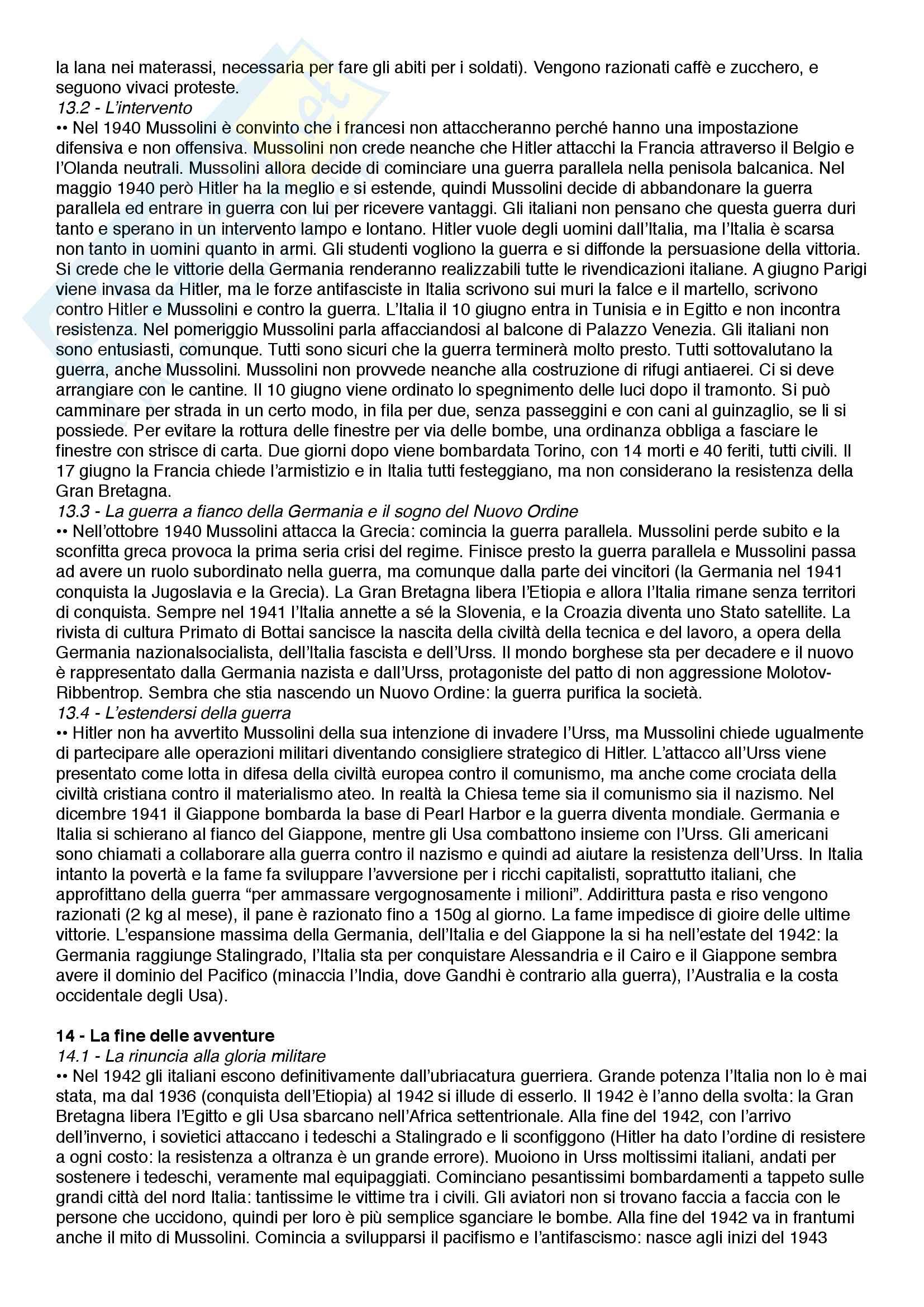 Riassunto esame Storia dell'Italia contemporanea, prof. Scornajenghi, libro consigliato Storia dell'Italia dall'Unità a oggi, Lepre, Petraccone Pag. 16