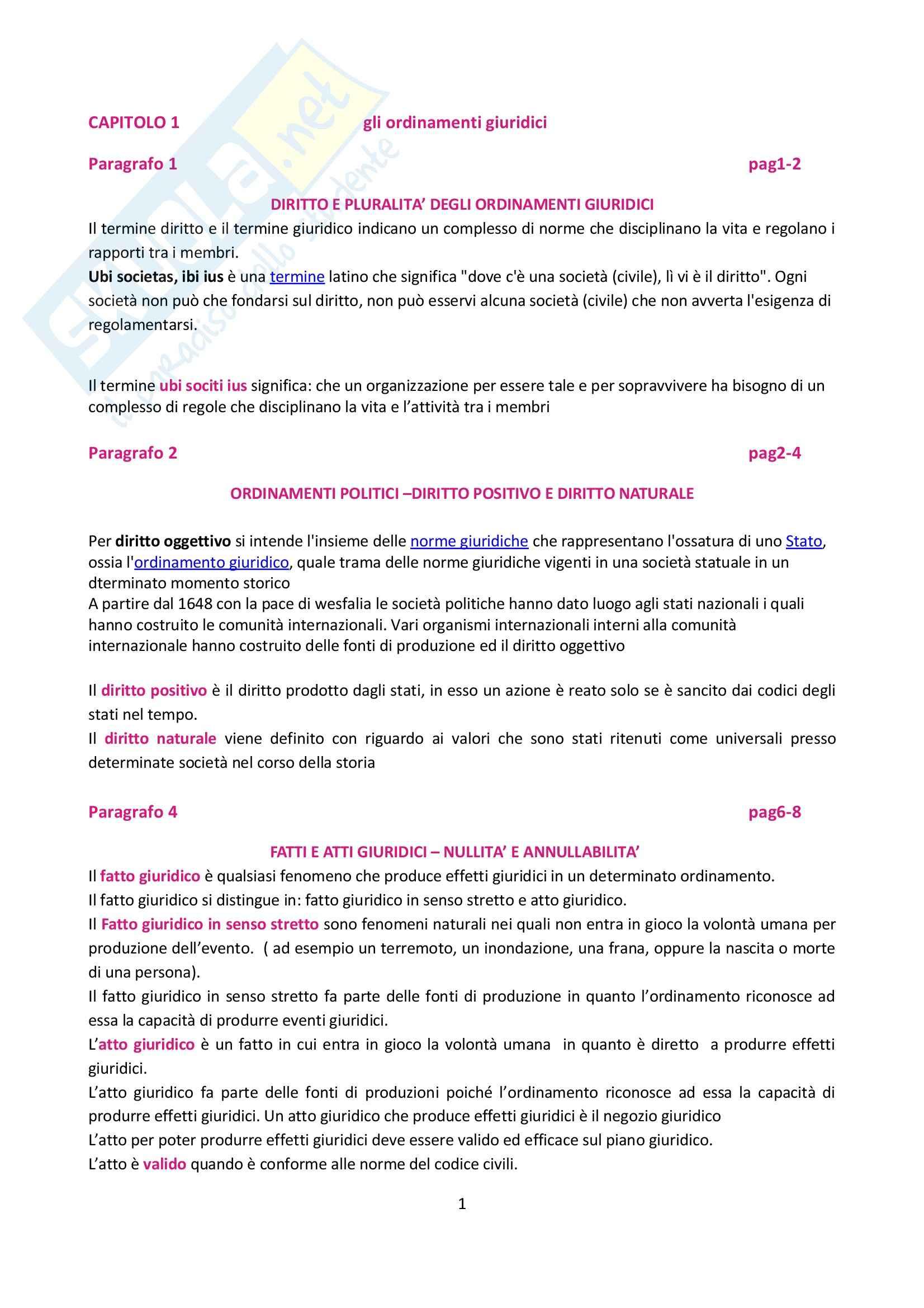 Riassunto esame Diritto Pubblico, prof. Luchena, libro consigliato Manuale di Diritto Pubblico, Rossano
