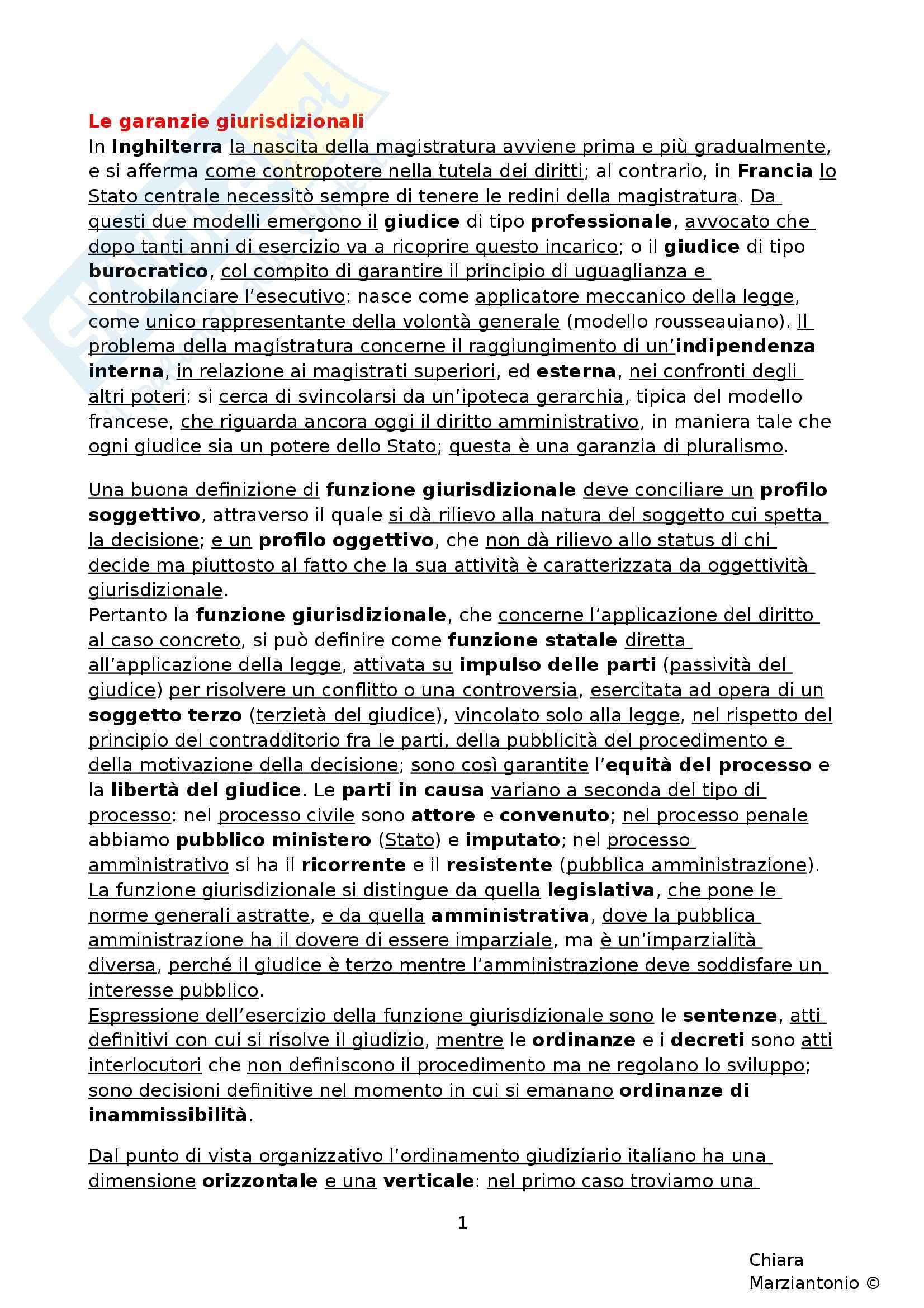 Riassunto esame Istituzioni di Diritto Pubblico, prof. Fusaro, libro consigliato Corso di Diritto Pubblico, Barbera, Fusaro - cap. 14