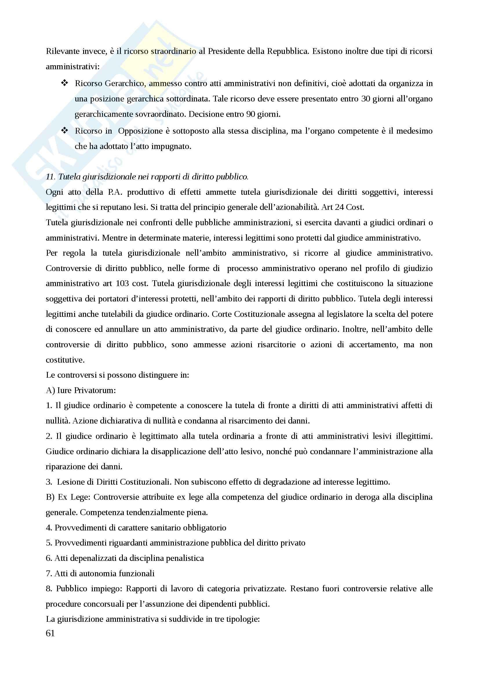 Lezioni, Diritto Amministrativo Pag. 61