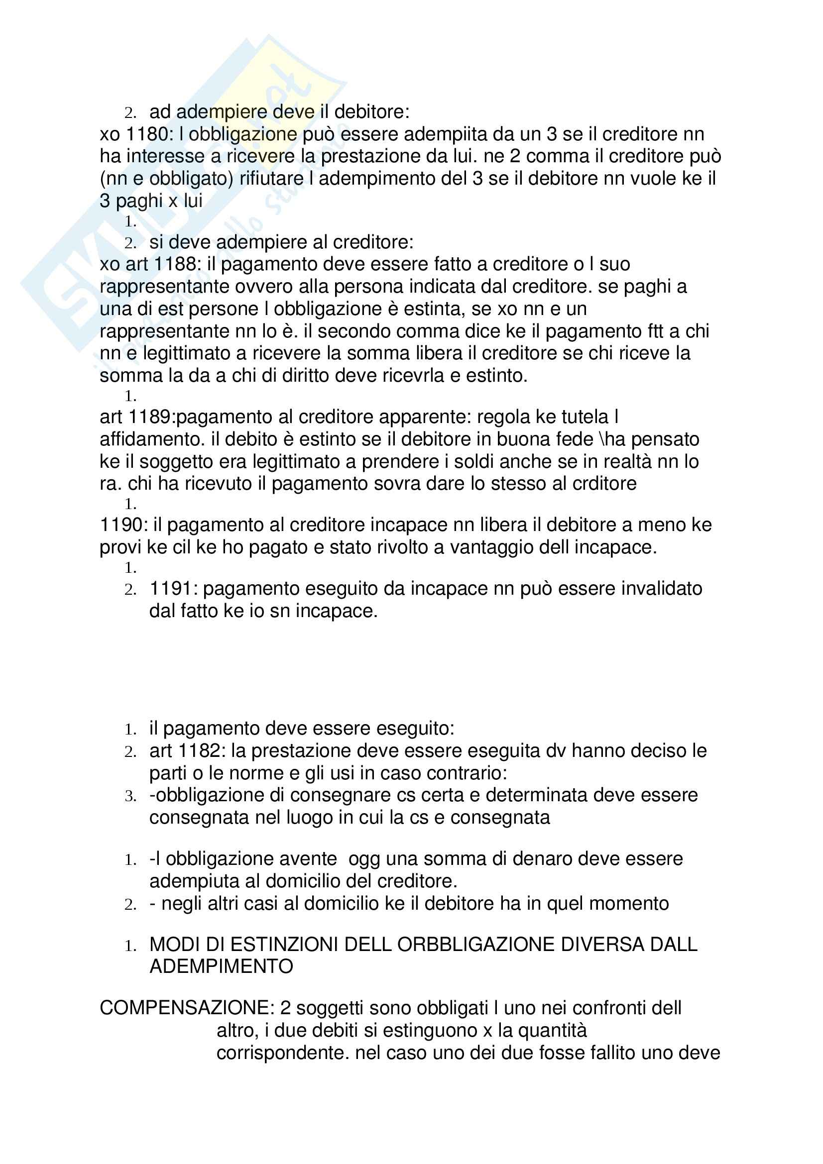 Lezioni: Appunti di Diritto privato Pag. 31