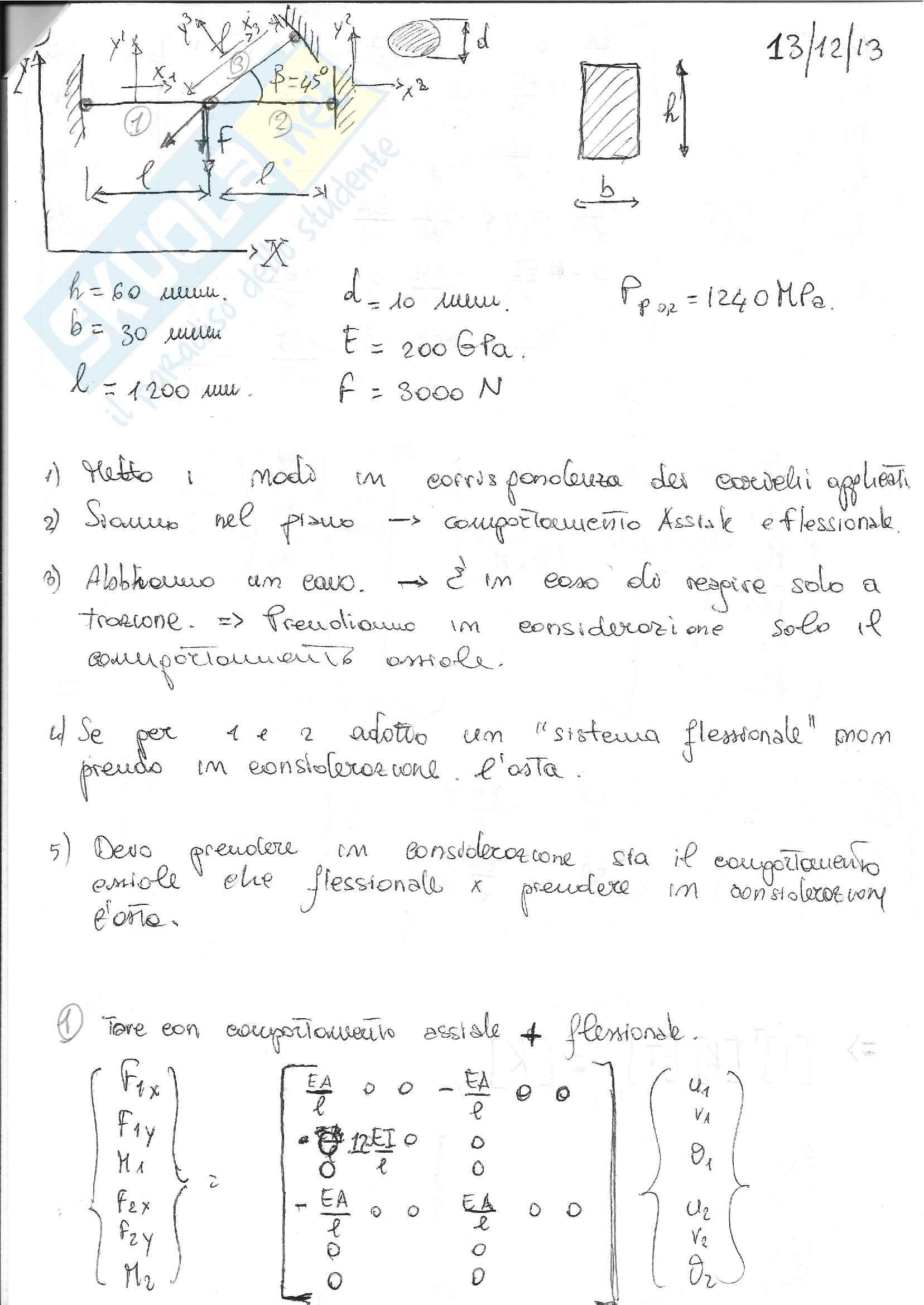 Formulario Fondamenti di Meccanica Strutturale Pag. 41