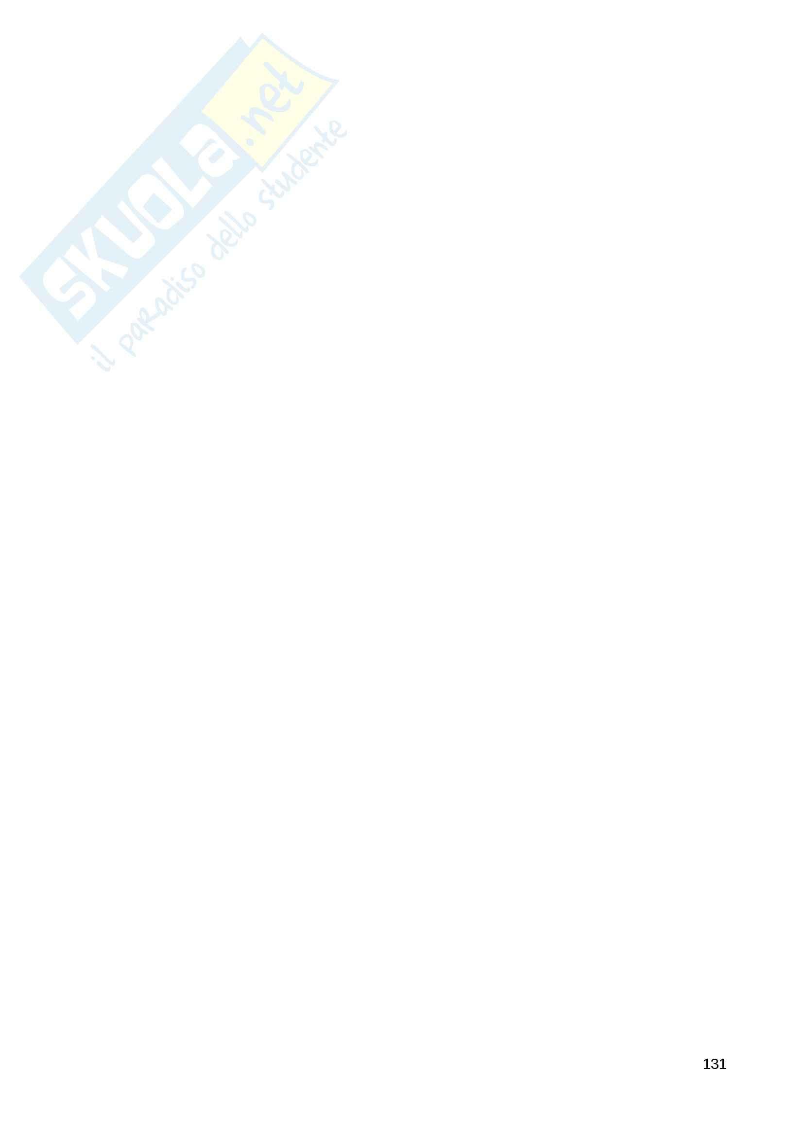 Riassunto esame Diritto Privato, prof. Fernandez, libro consigliato Istituzioni di diritto privato, Paradiso M., Giappichelli Pag. 131
