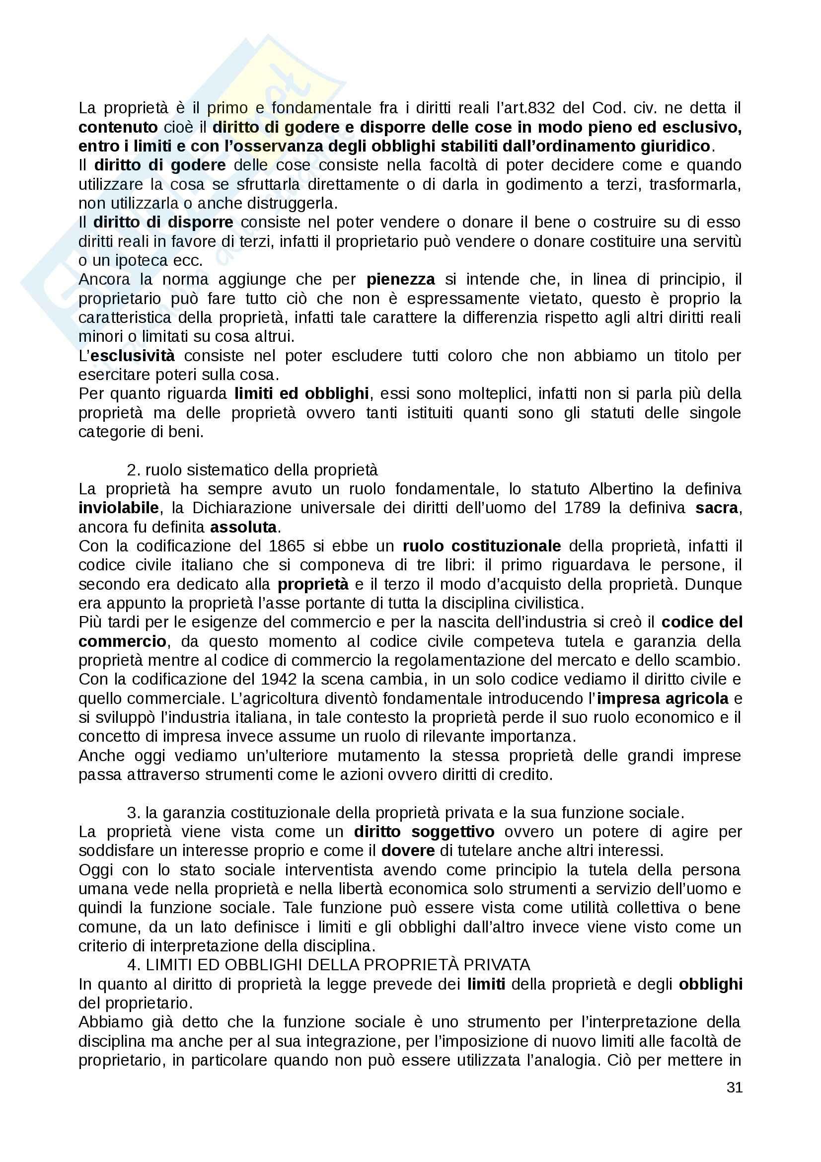 Riassunto esame Diritto Privato, prof. Fernandez, libro consigliato Istituzioni di diritto privato, Paradiso M., Giappichelli Pag. 31