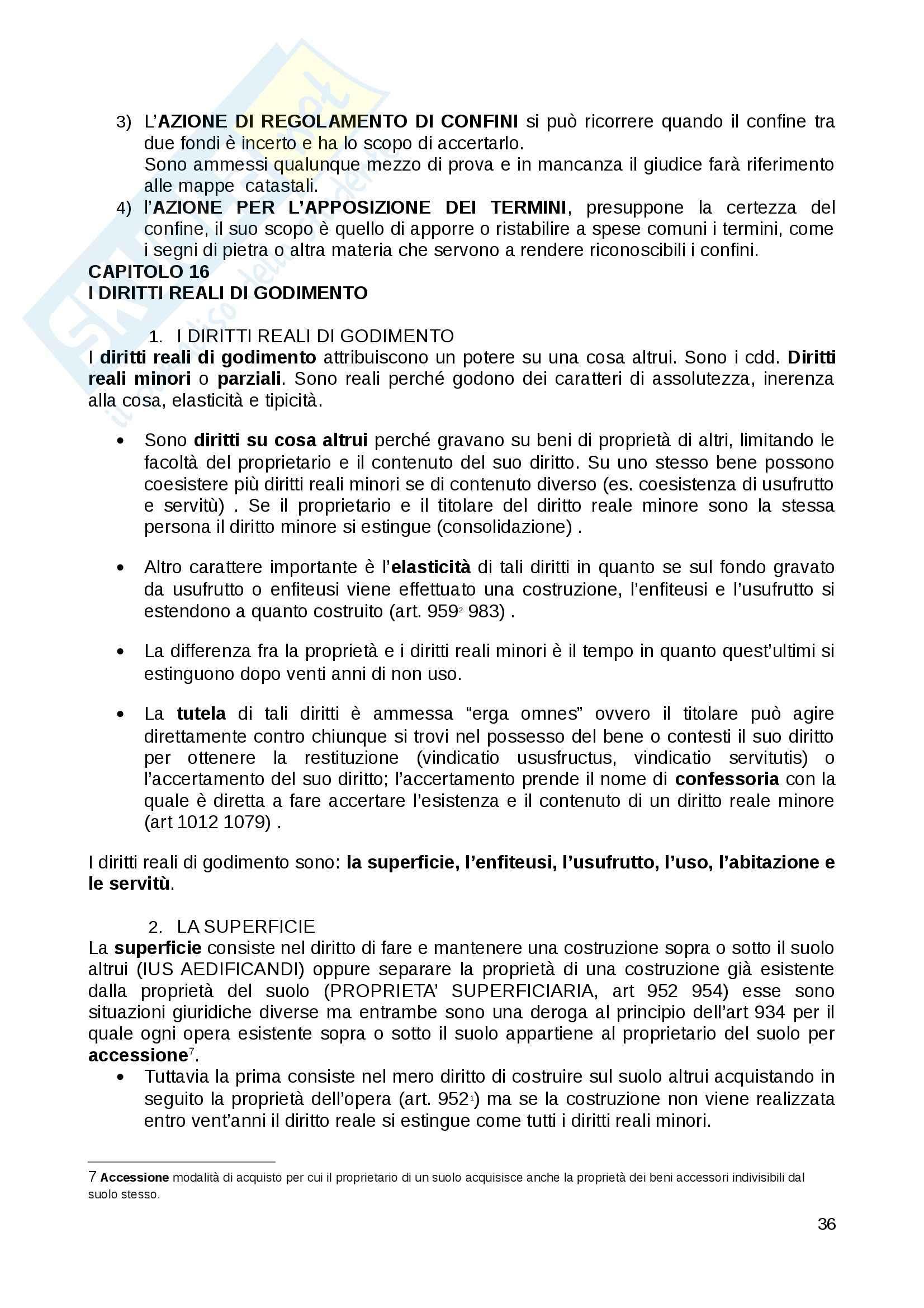 Riassunto esame Diritto Privato, prof. Fernandez, libro consigliato Istituzioni di diritto privato, Paradiso M., Giappichelli Pag. 36