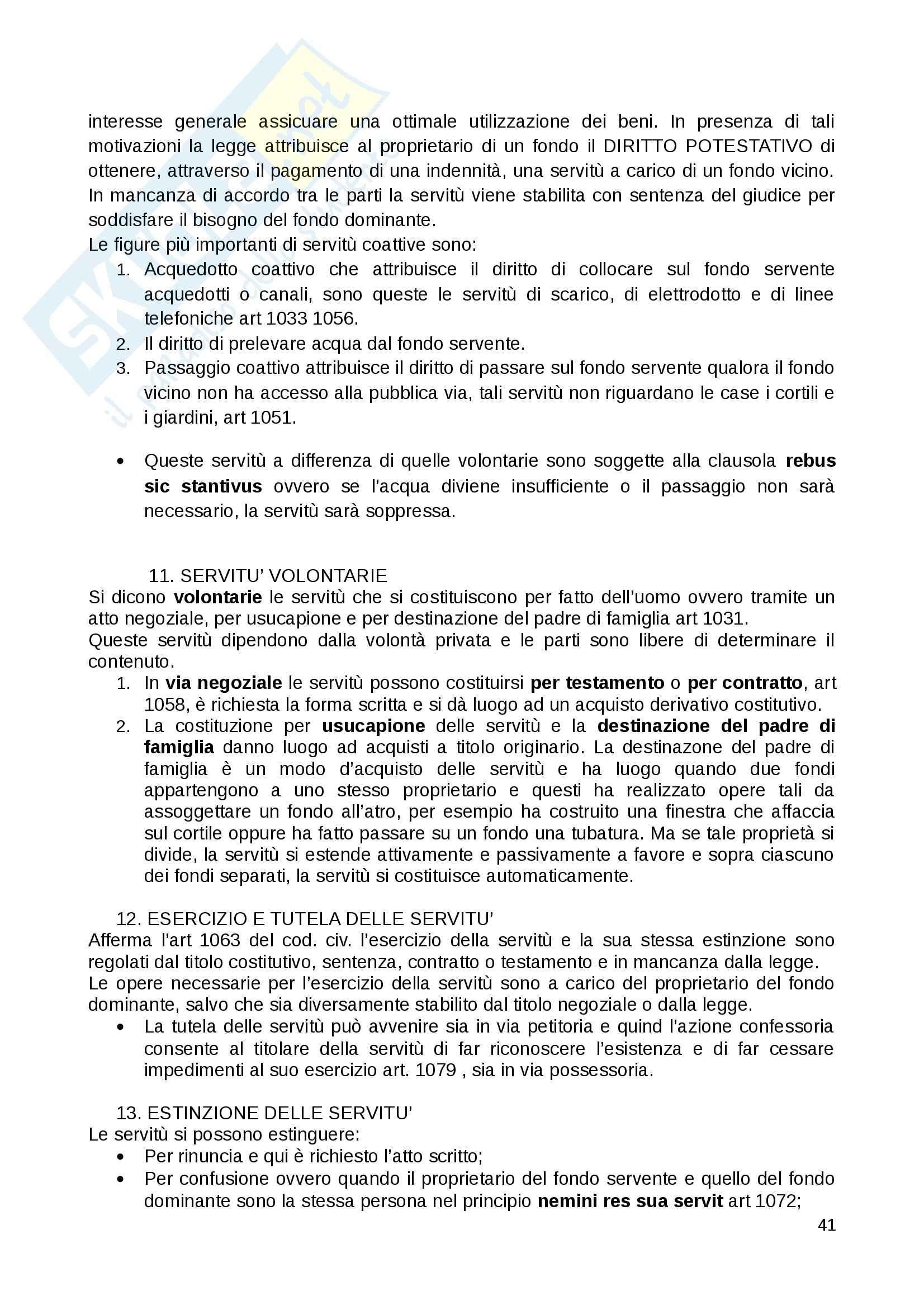 Riassunto esame Diritto Privato, prof. Fernandez, libro consigliato Istituzioni di diritto privato, Paradiso M., Giappichelli Pag. 41