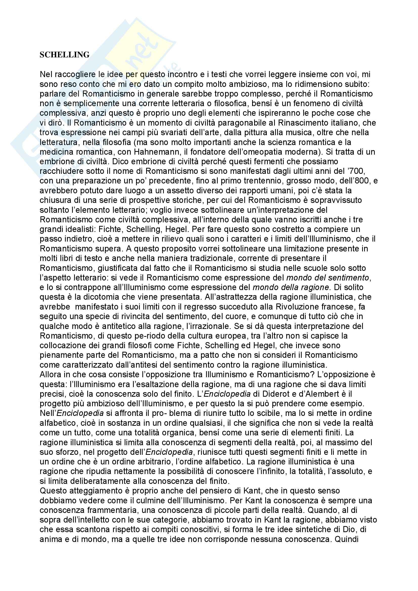 Storia della filosofia - Appunti