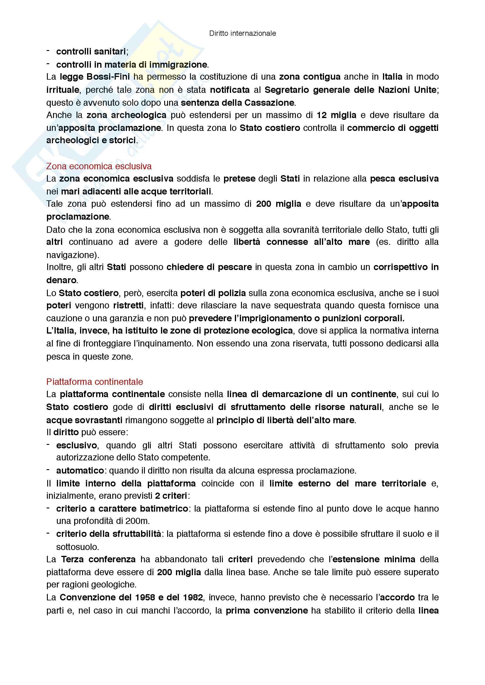 Riassunto esame Diritto internazionale, prof Virzo, libro consigliato Introduzione al diritto internazionale, Ronzitti Pag. 16