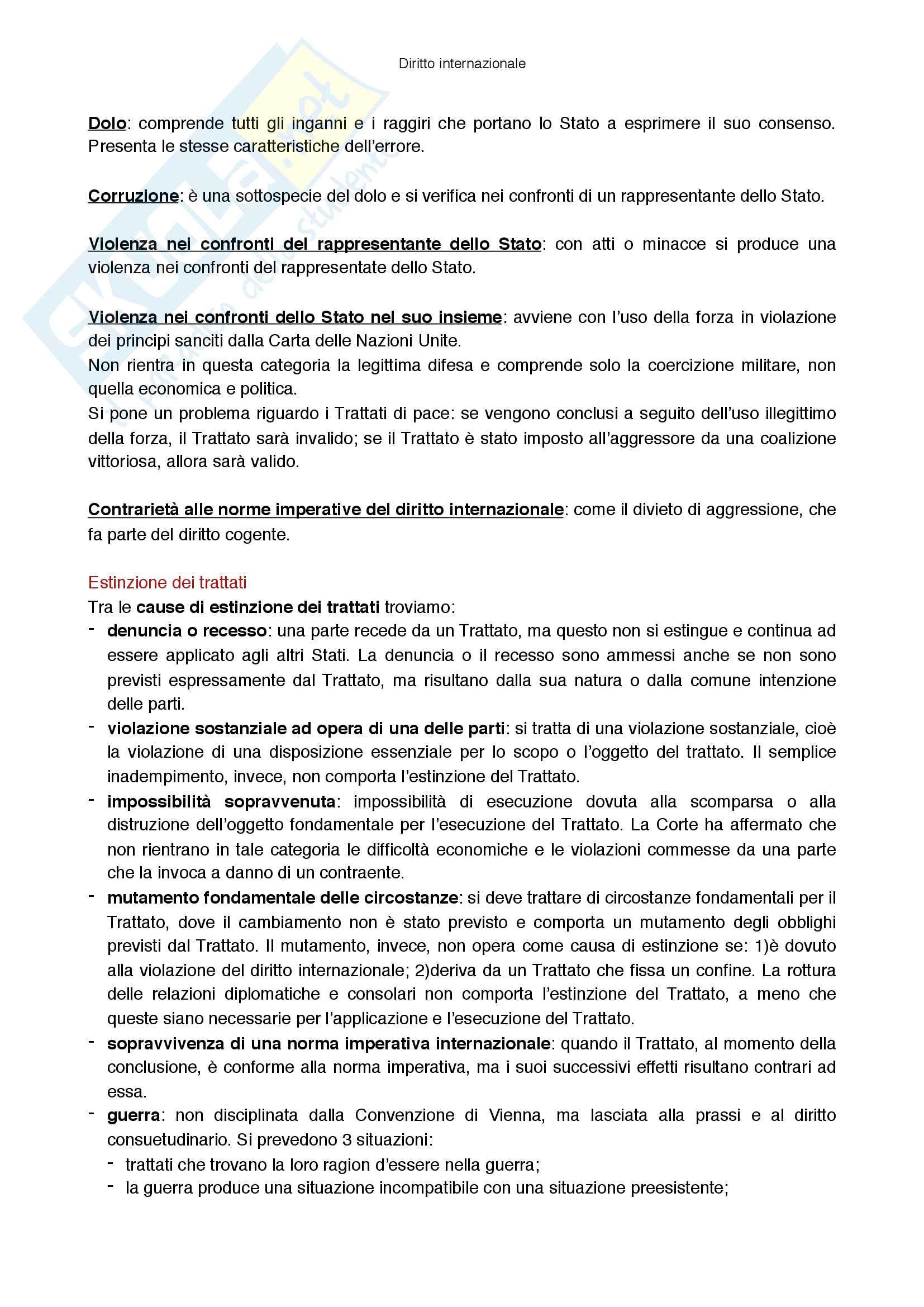 Riassunto esame Diritto internazionale, prof Virzo, libro consigliato Introduzione al diritto internazionale, Ronzitti Pag. 31