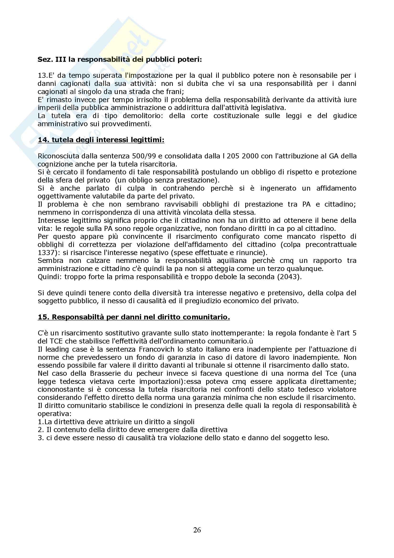 Riassunto esame Diritto Civile, prof. indefinito, libro consigliato La Tutela Civile dei Diritti, Di Majo Pag. 26