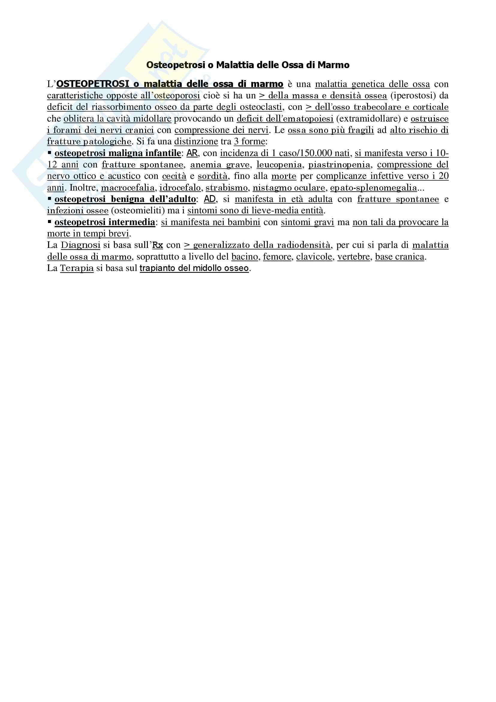 Reumatologia - Approfondimenti Pag. 6