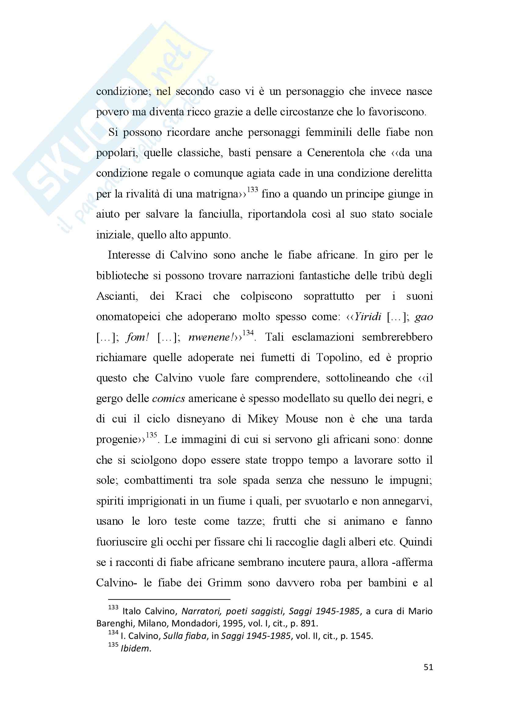 Tesi - Italo Calvino e il fantastico Pag. 51