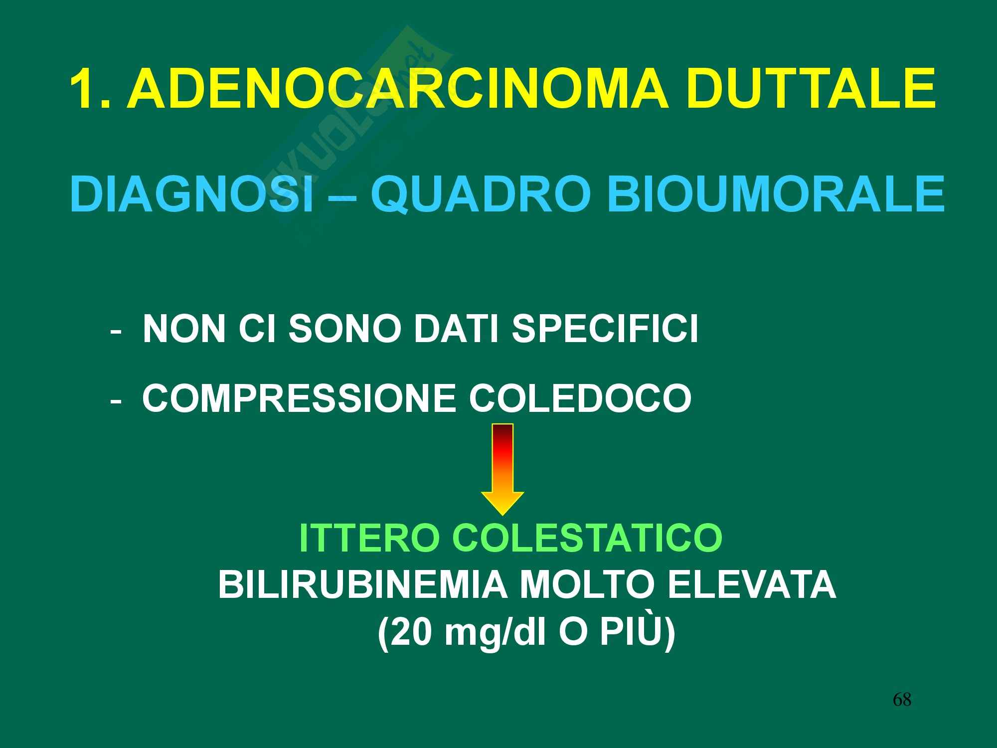 Chirurgia dell'apparato digerente - Tumori pancreas Pag. 11