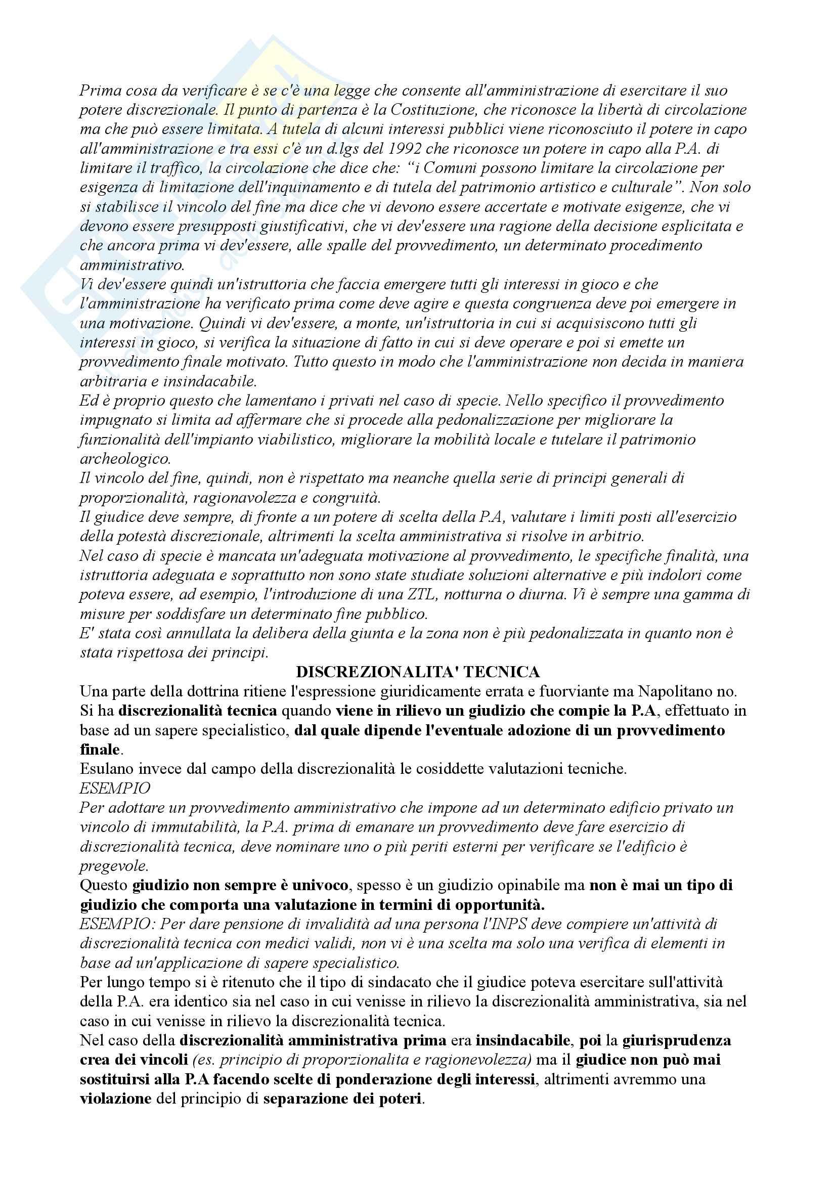 Diritto Amministrativo - Appunti a.a. 2014/2015 Pag. 21