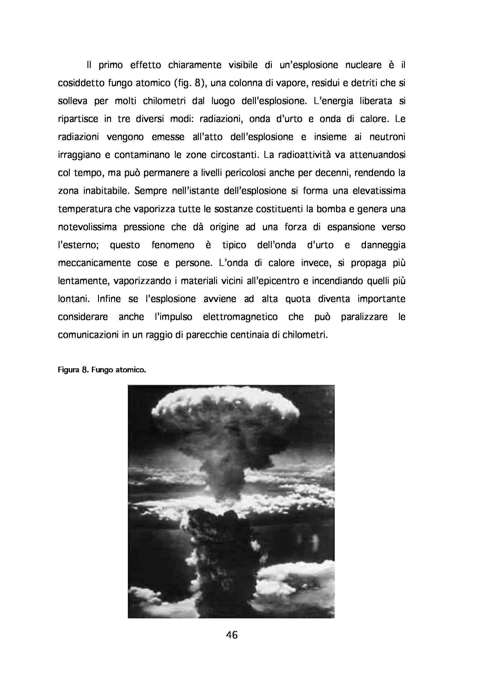 Tesi - Energia nucleare: impieghi, radioattività e funzionamento del reattore Pag. 46