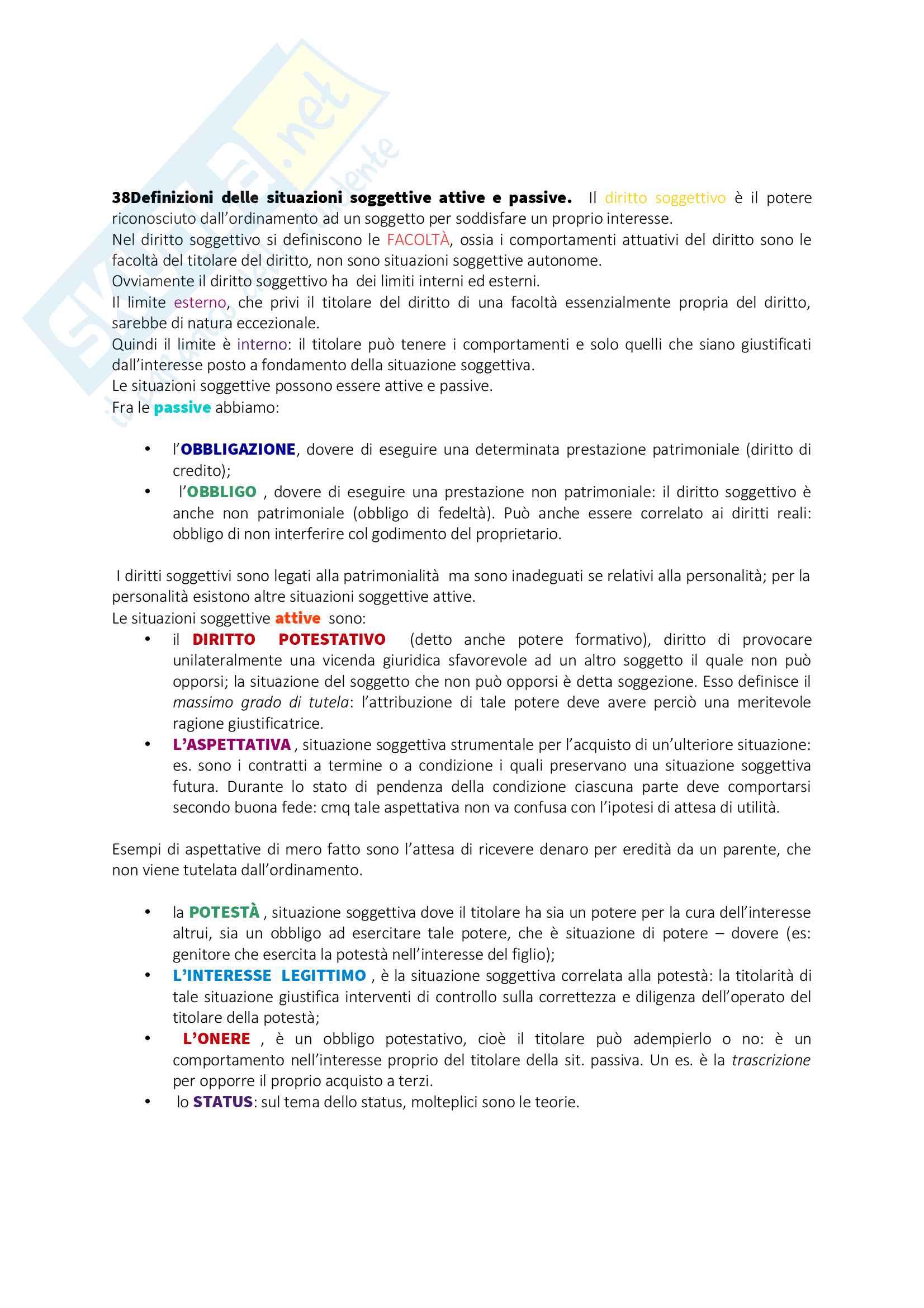 Appunti Diritto privato I Pag. 26