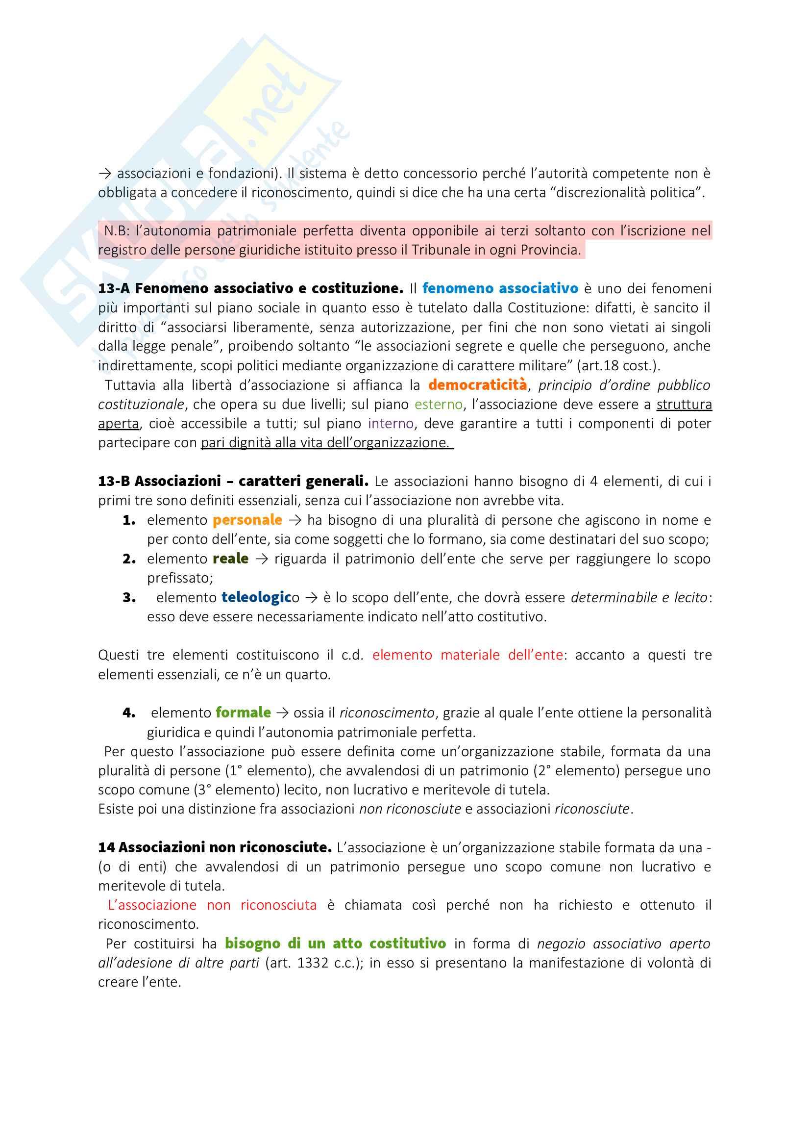 Appunti Diritto privato I Pag. 41