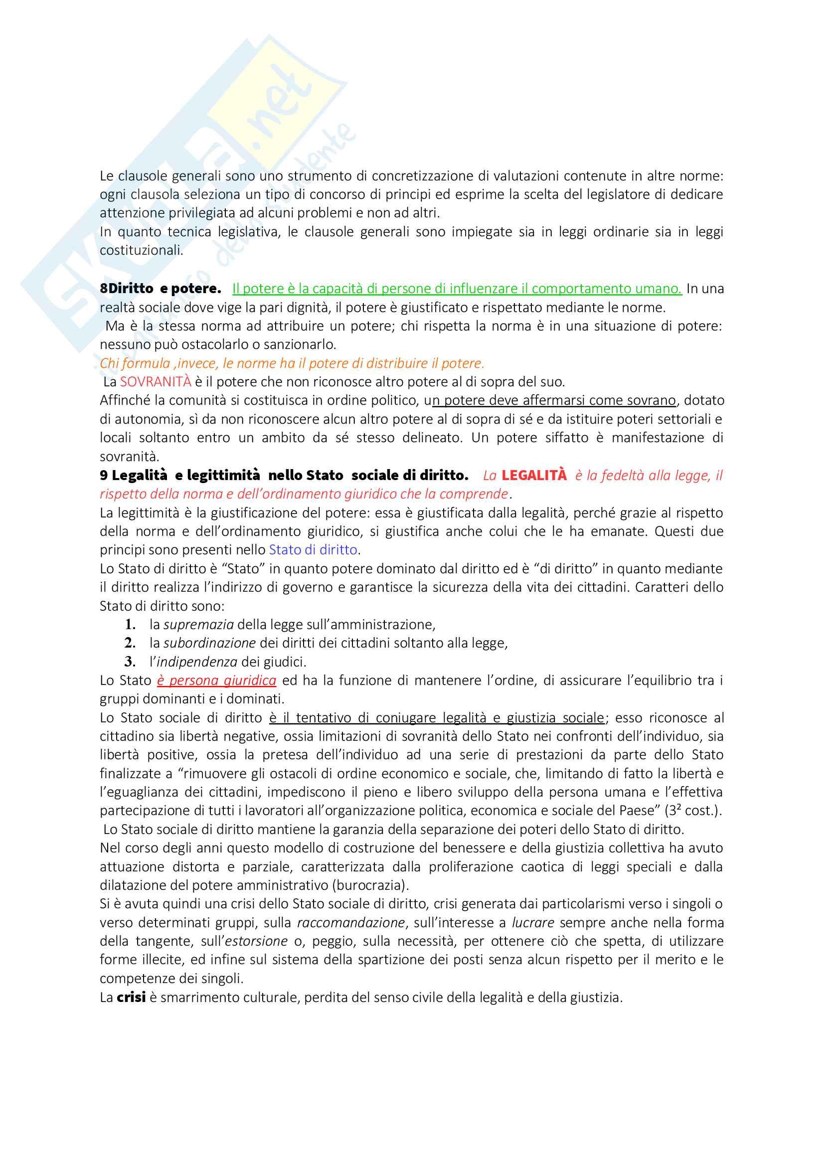 Appunti Diritto privato I Pag. 6