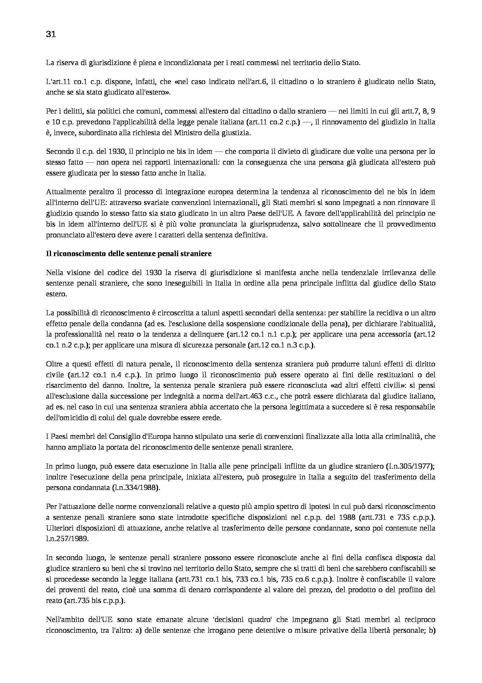 Riassunto esame Diritto Penale, prof. Marinucci, libro consigliato Manuale di Diritto Penale Pag. 31