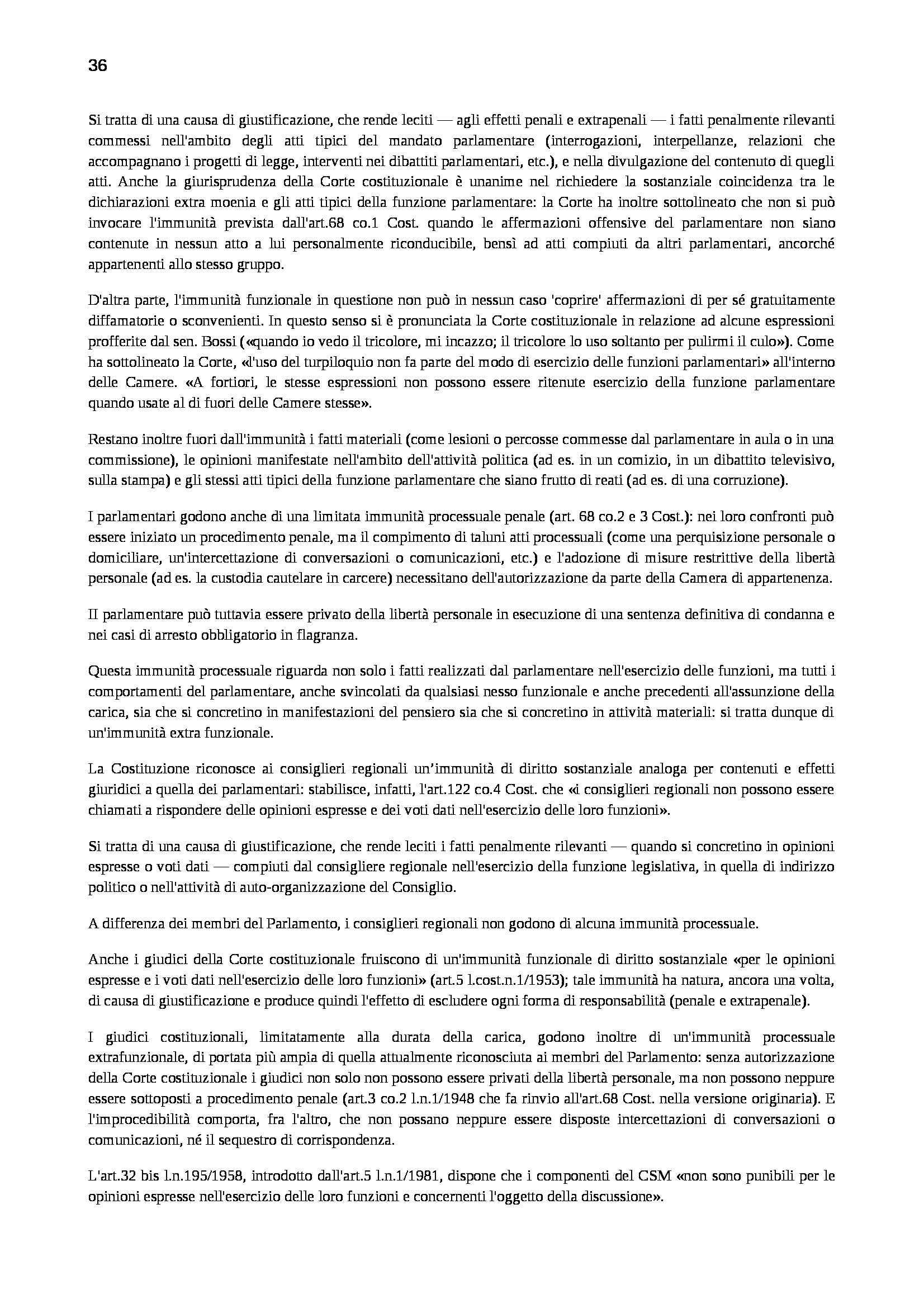 Riassunto esame Diritto Penale, prof. Marinucci, libro consigliato Manuale di Diritto Penale Pag. 36