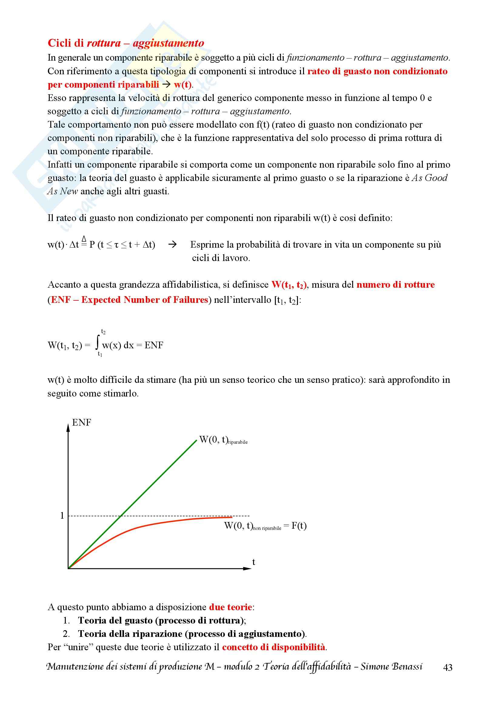 Lezioni, Manutenzione dei sistemi di produzione M Pag. 46