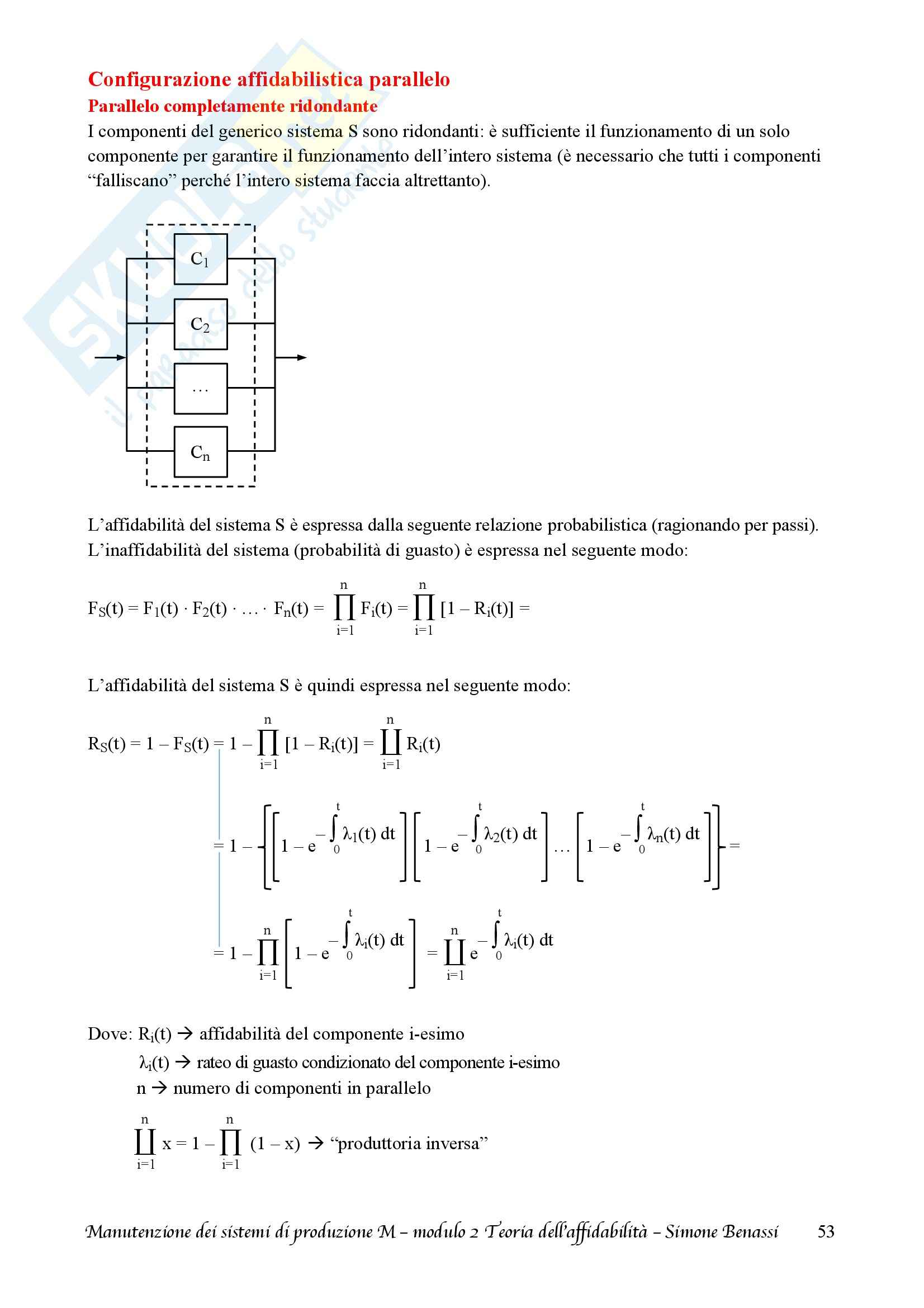 Lezioni, Manutenzione dei sistemi di produzione M Pag. 56