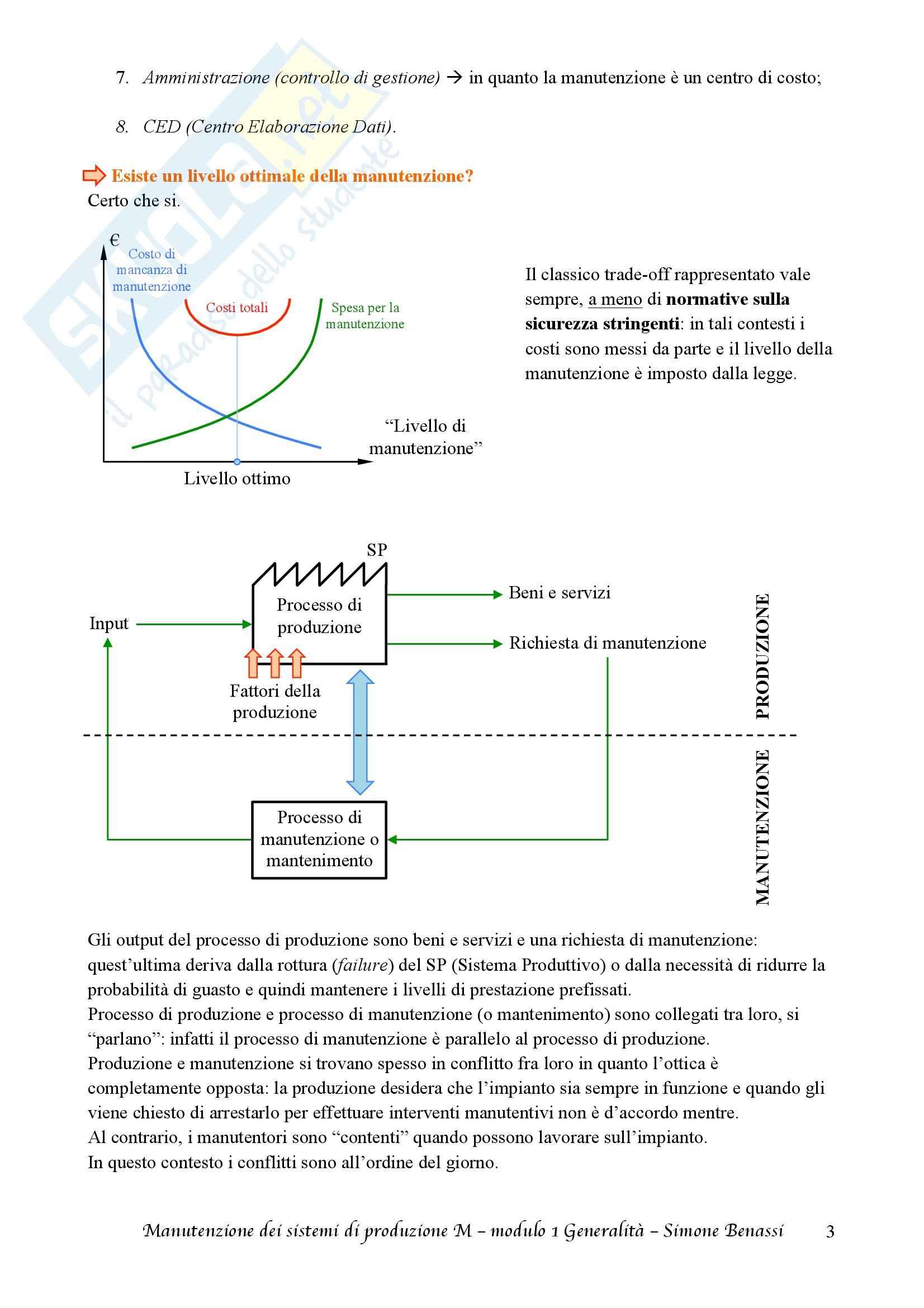Lezioni, Manutenzione dei sistemi di produzione M Pag. 6