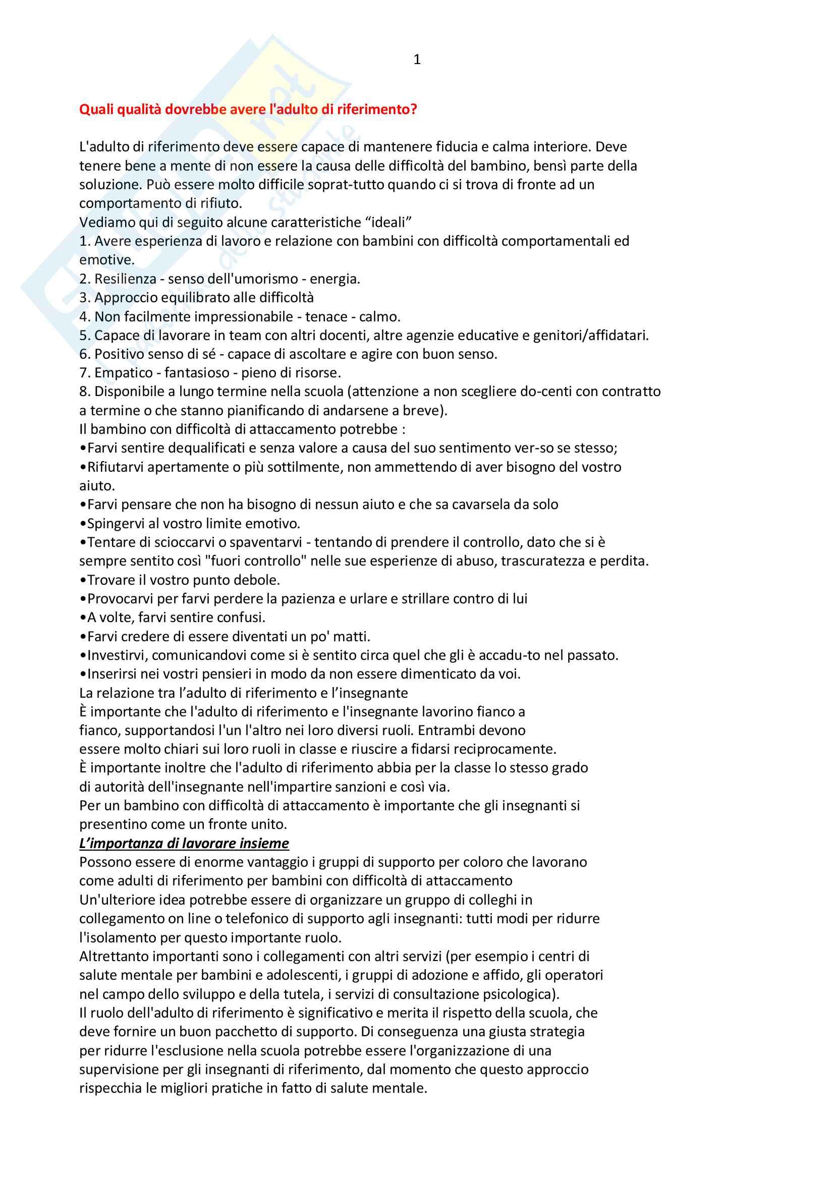 Domande e risposte esame scritto e orale psico svilupo e relazioni interpersaonali