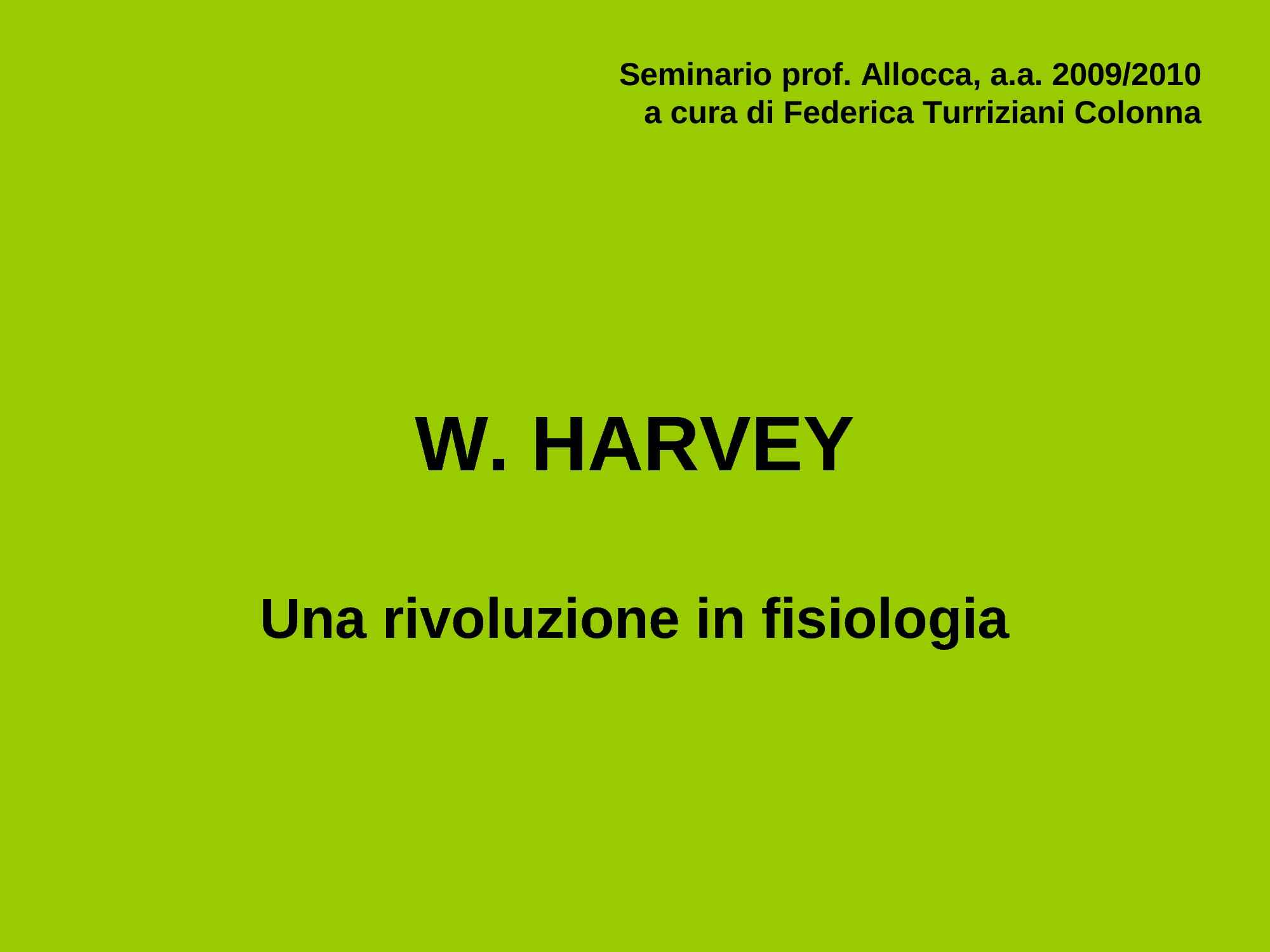 Harvey, William Pag. 1