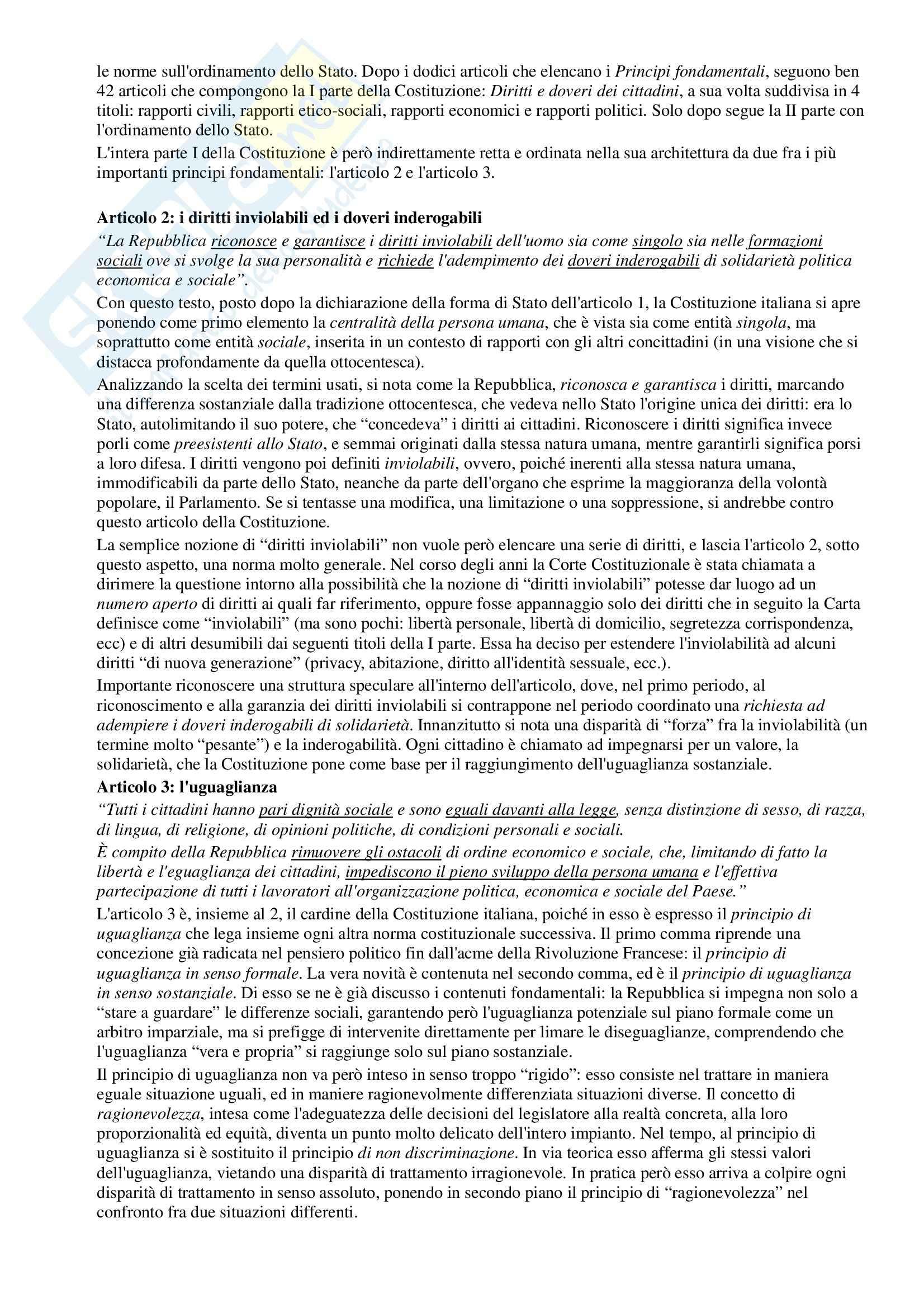 Riassunto esame Diritto Pubblico, prof. Simoncini, libro consigliato Introduzione allo studio del Diritto Pubblico e delle sue fonti, Simoncini, Groppi Pag. 16