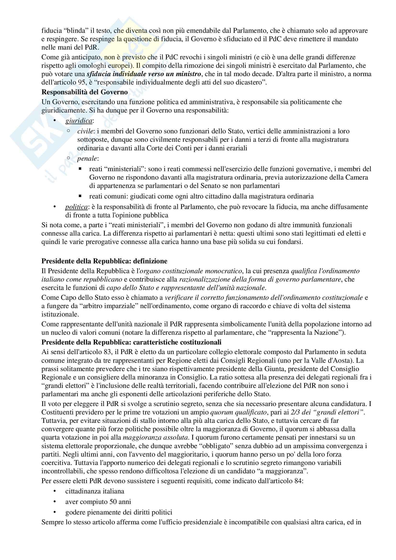 Riassunto esame Diritto Pubblico, prof. Simoncini, libro consigliato Introduzione allo studio del Diritto Pubblico e delle sue fonti, Simoncini, Groppi Pag. 31