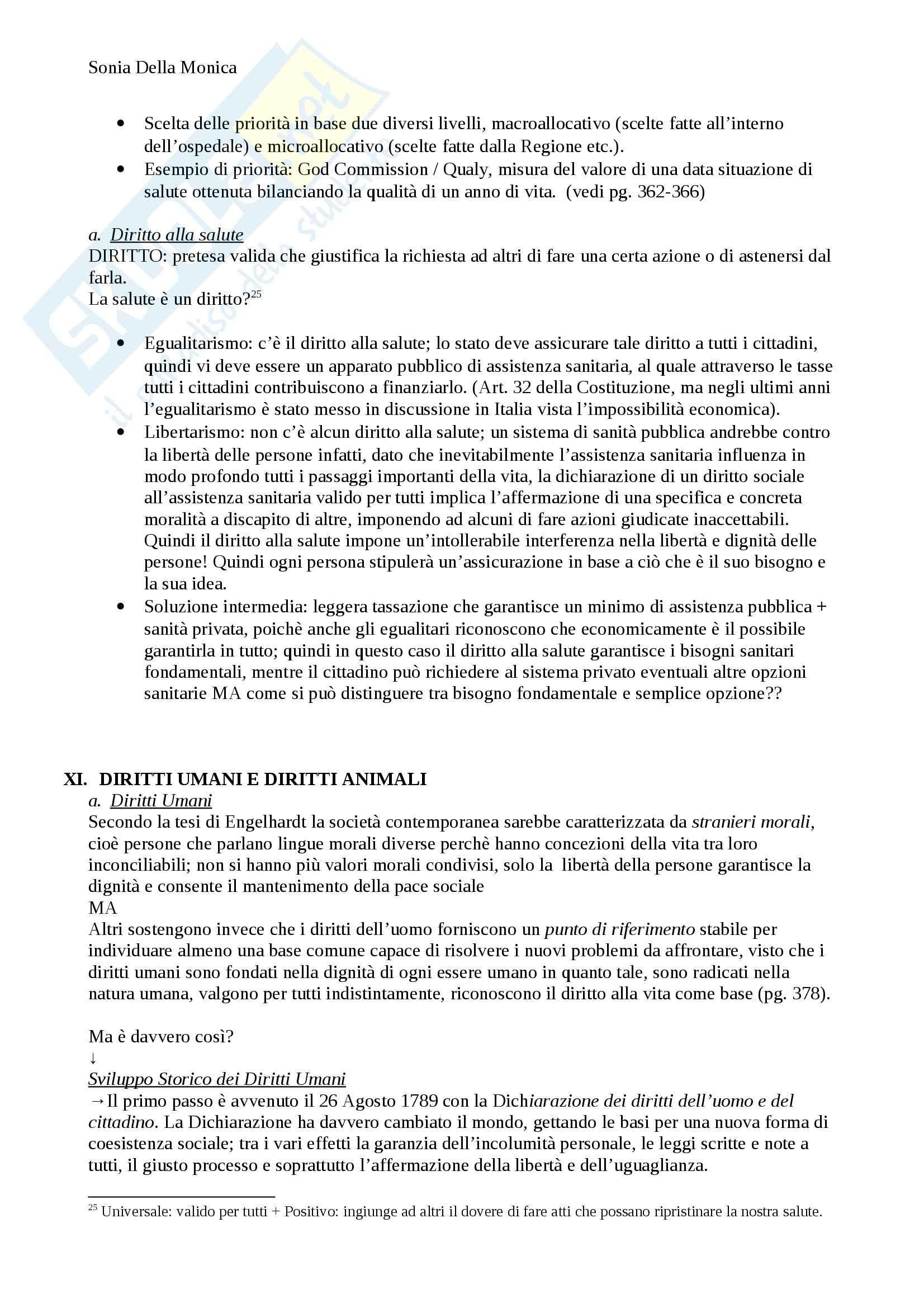 Lezioni seconda parte, Bioetica Pag. 31