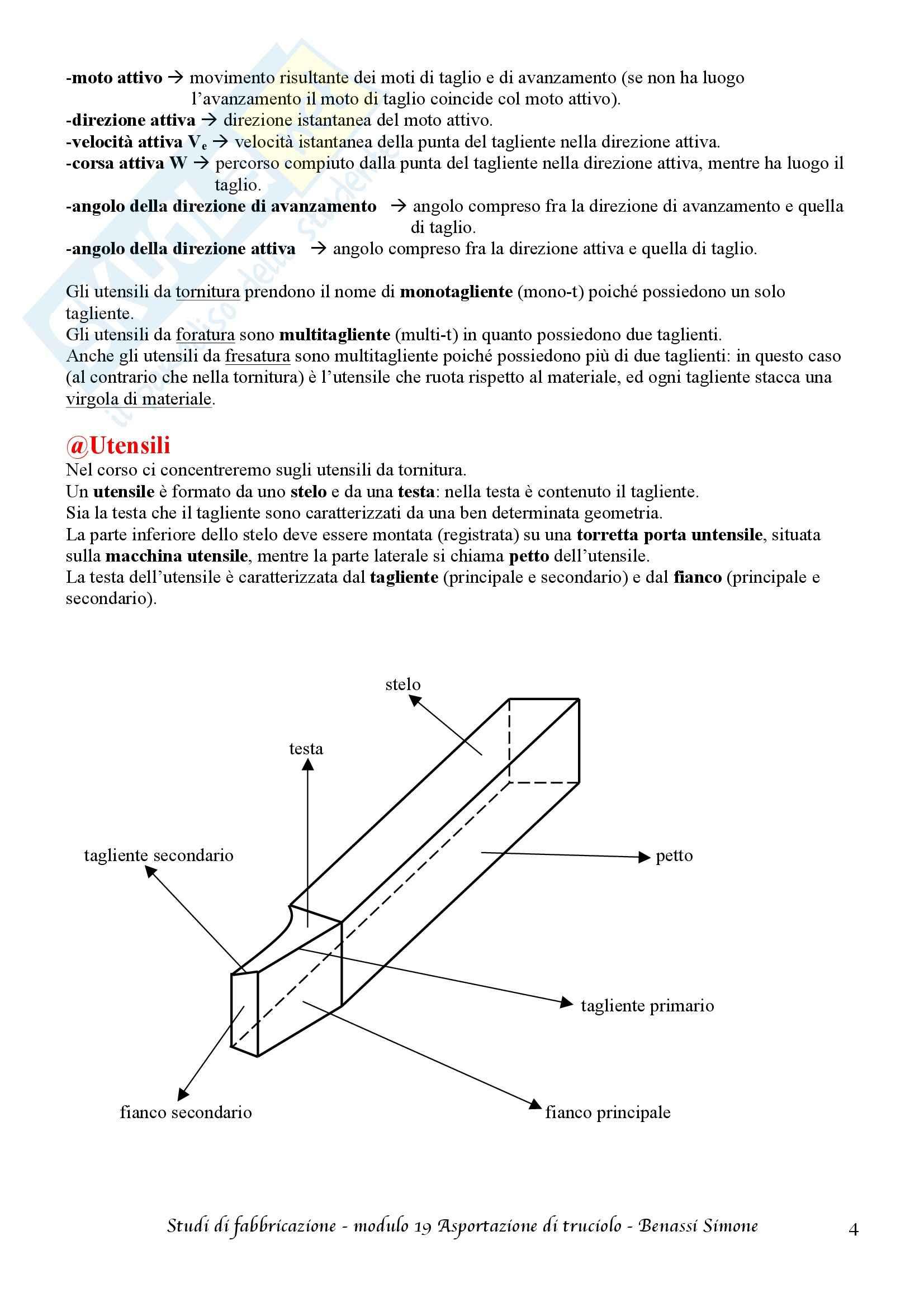 Studi di fabbricazione T-1 - Appunti Pag. 66