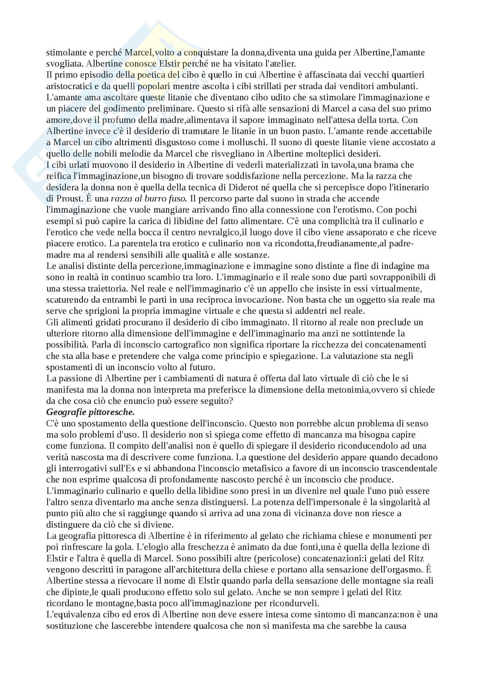 Riassunto esame Estetica, prof.M. Mazzocut-mis, libro consigliato Dal gusto al disgusto di M. Mazzocut-mis Pag. 16