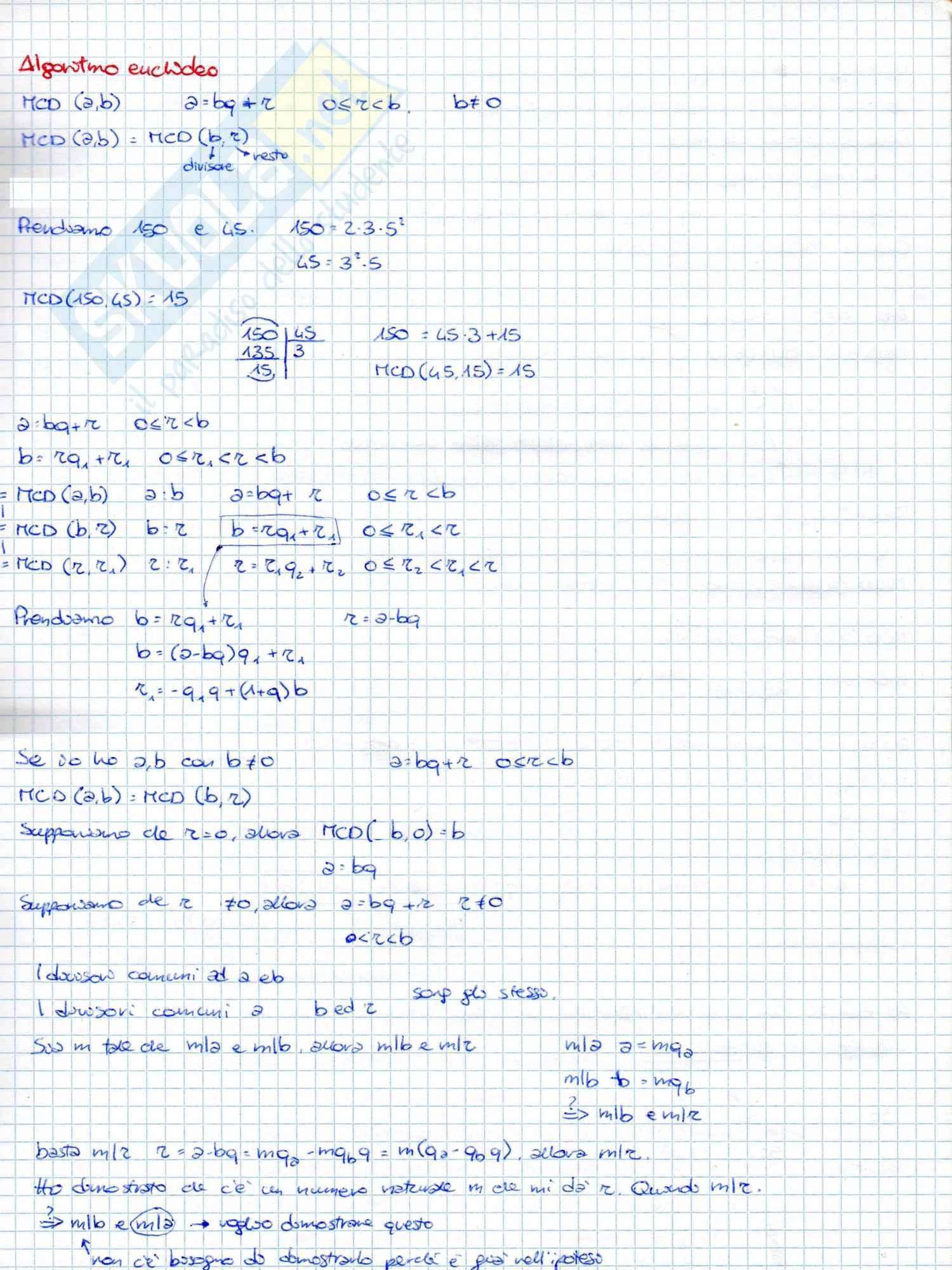 Appunti ed esercizi svolti di Matematica di base, Matematica di base, Pietro Zecca Pag. 41