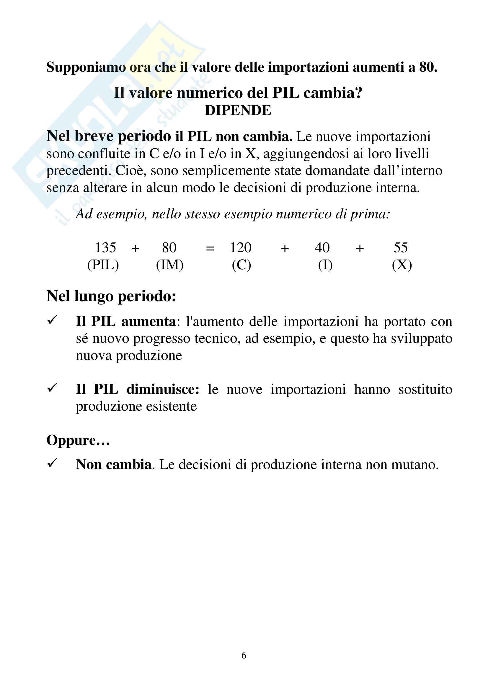 Contabilità nazionale Pag. 6
