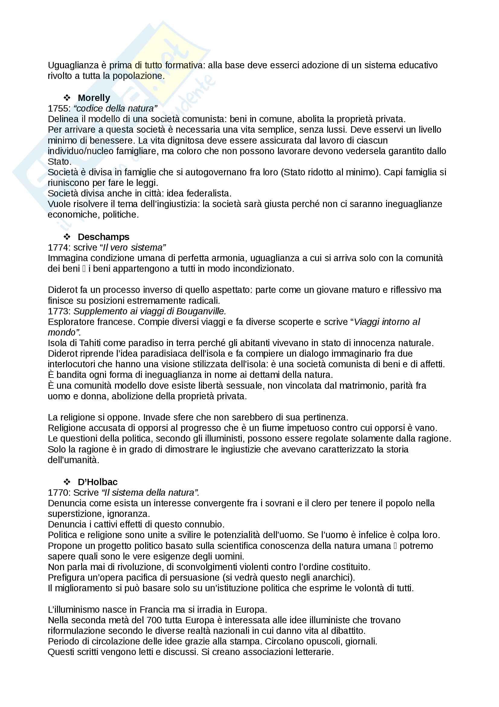 Riassunto esame storia delle dottrine politiche, prof. Del Corno, libro consigliato: Le grandi opere del pensiero politico, Jean-Jacques Chevallier Pag. 16