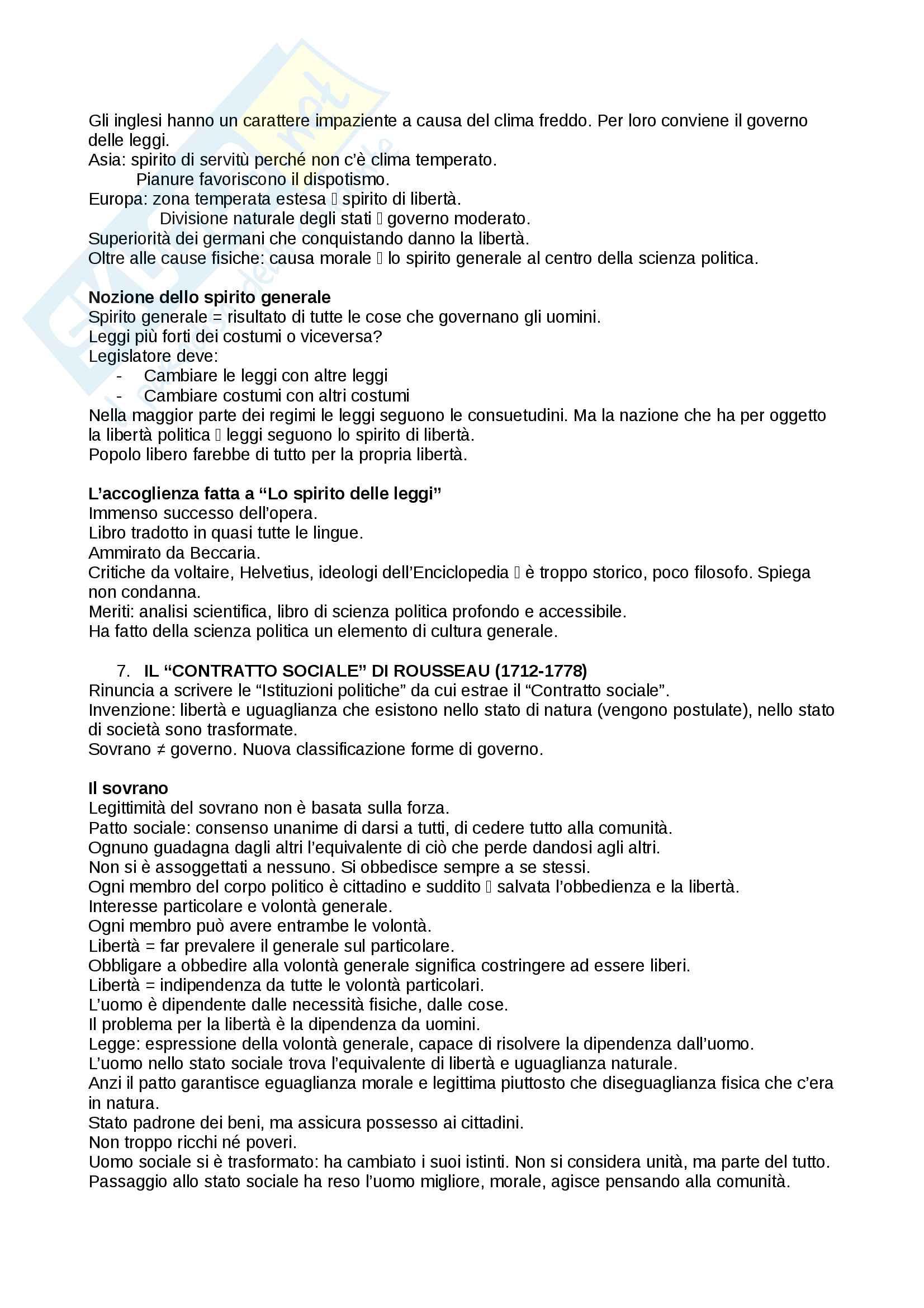 Riassunto esame storia delle dottrine politiche, prof. Del Corno, libro consigliato: Le grandi opere del pensiero politico, Jean-Jacques Chevallier Pag. 21