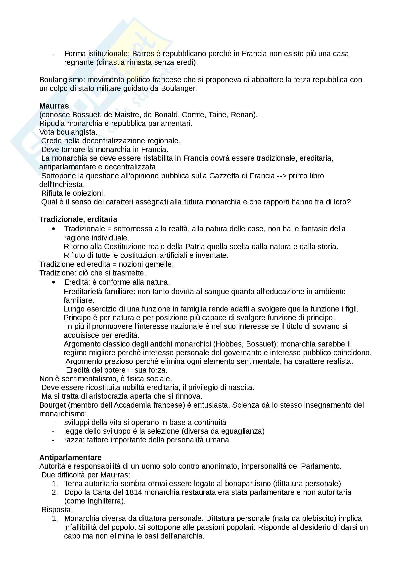 Riassunto esame storia delle dottrine politiche, prof. Del Corno, libro consigliato: Le grandi opere del pensiero politico, Jean-Jacques Chevallier Pag. 46