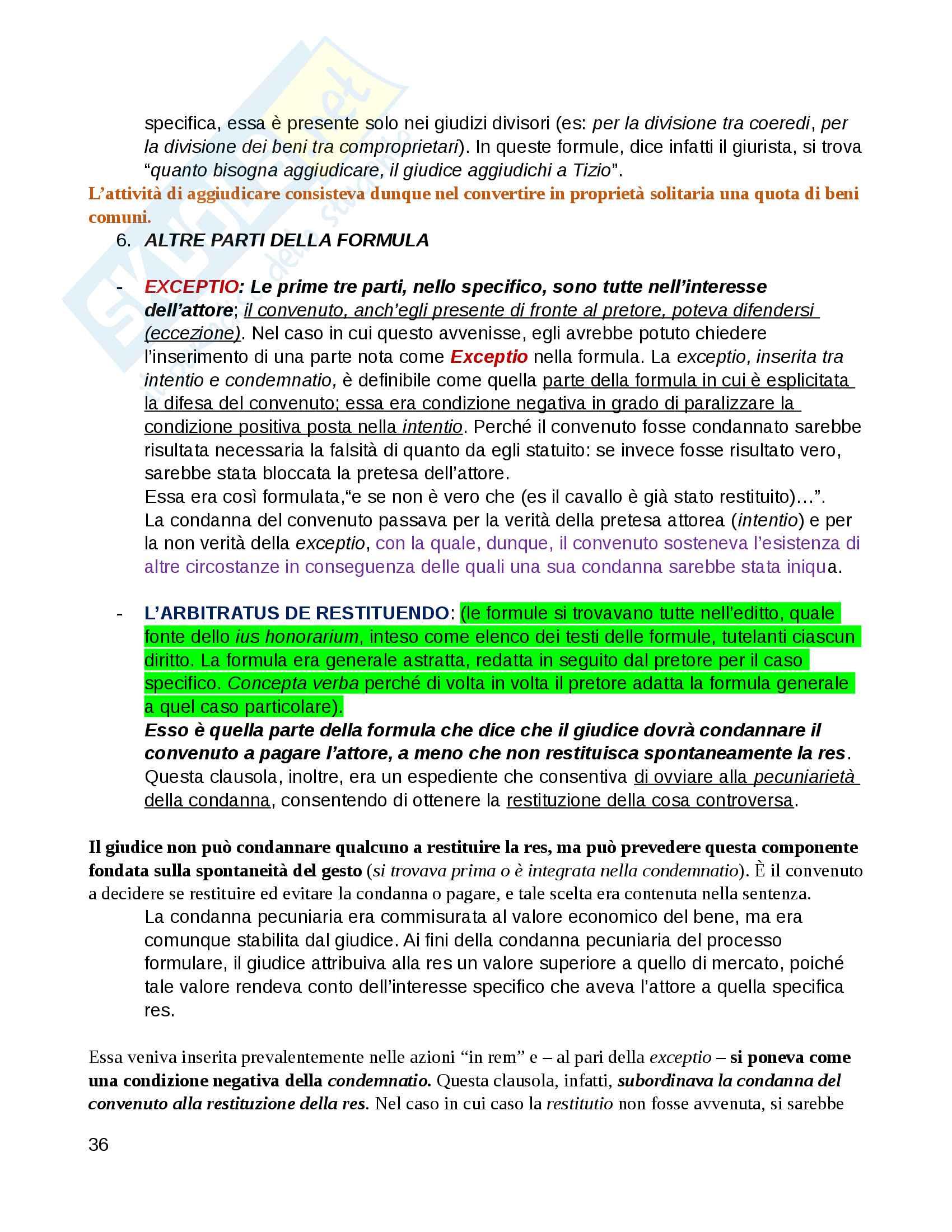 Istituzioni di Diritto Romano - Professor Pergami - Professor Gagliardi Pag. 36