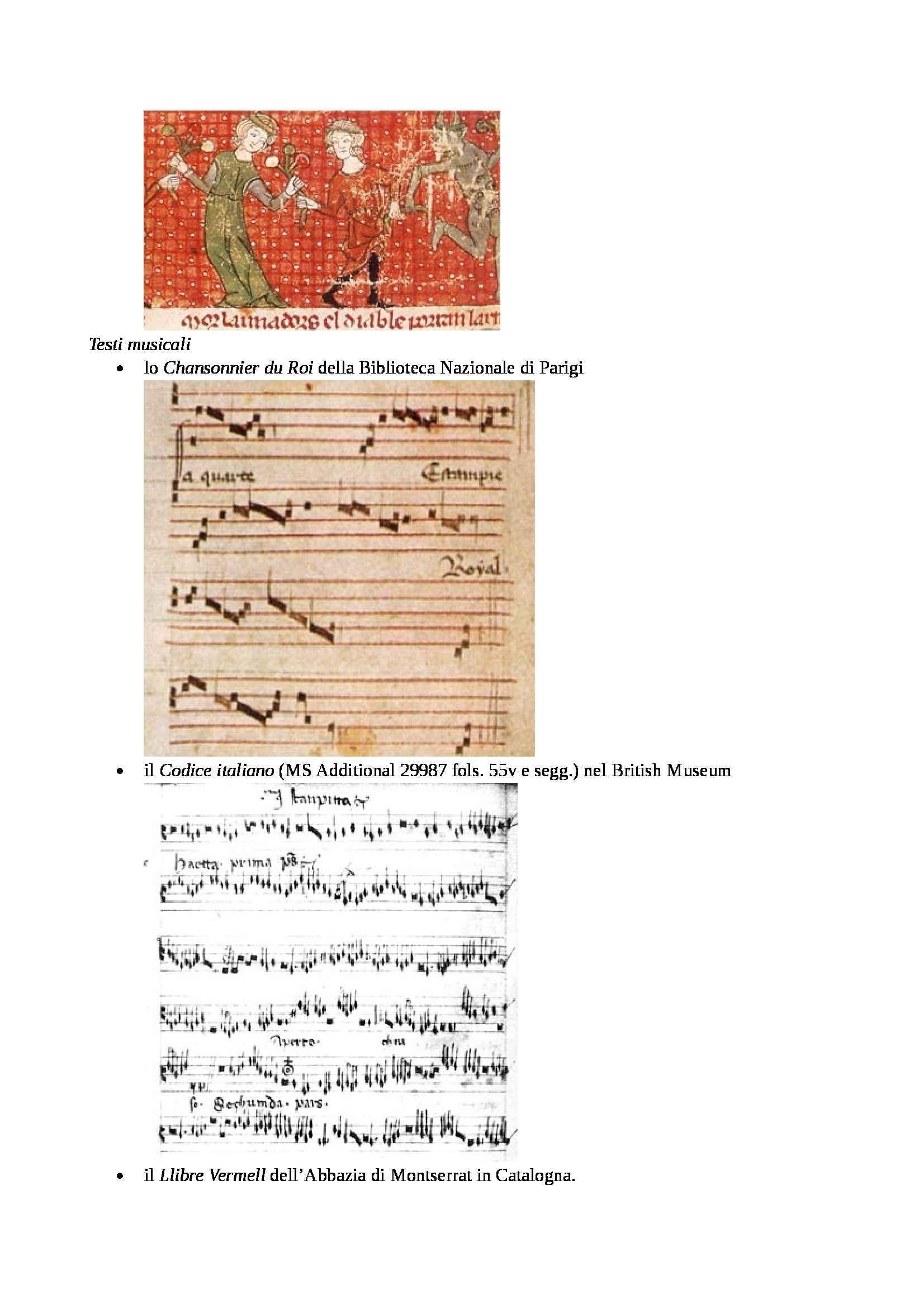 Storia della danza e del mimo -  Danza nel Medioevo Pag. 6