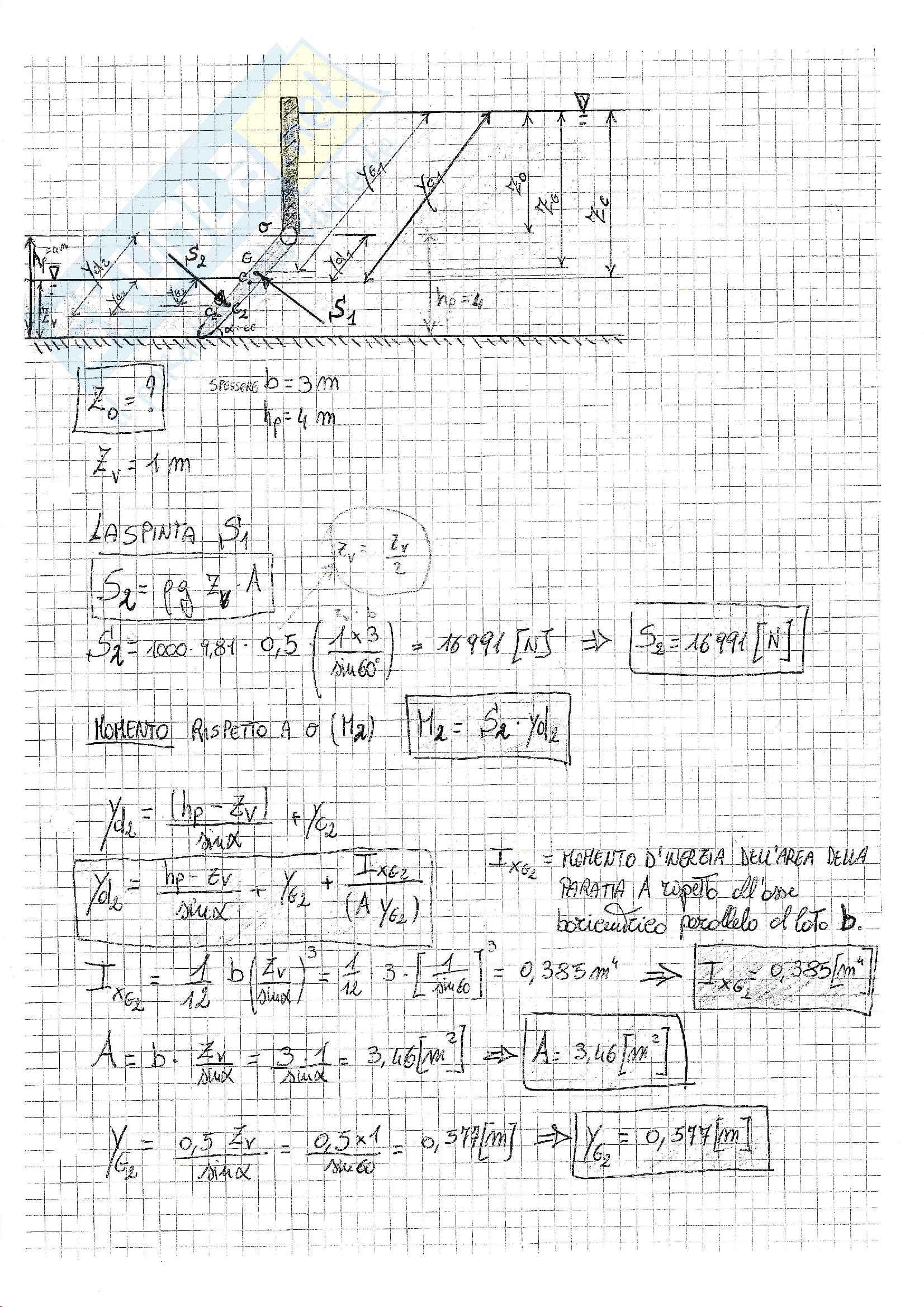 Esercizi svolti esame Fluidodinamica, prof. Crivellini, libri consigliati: Meccanica dei fluidi, Cengel - Cimbala; Meccanica dei Fluidi, Pnueli, Gutfinger