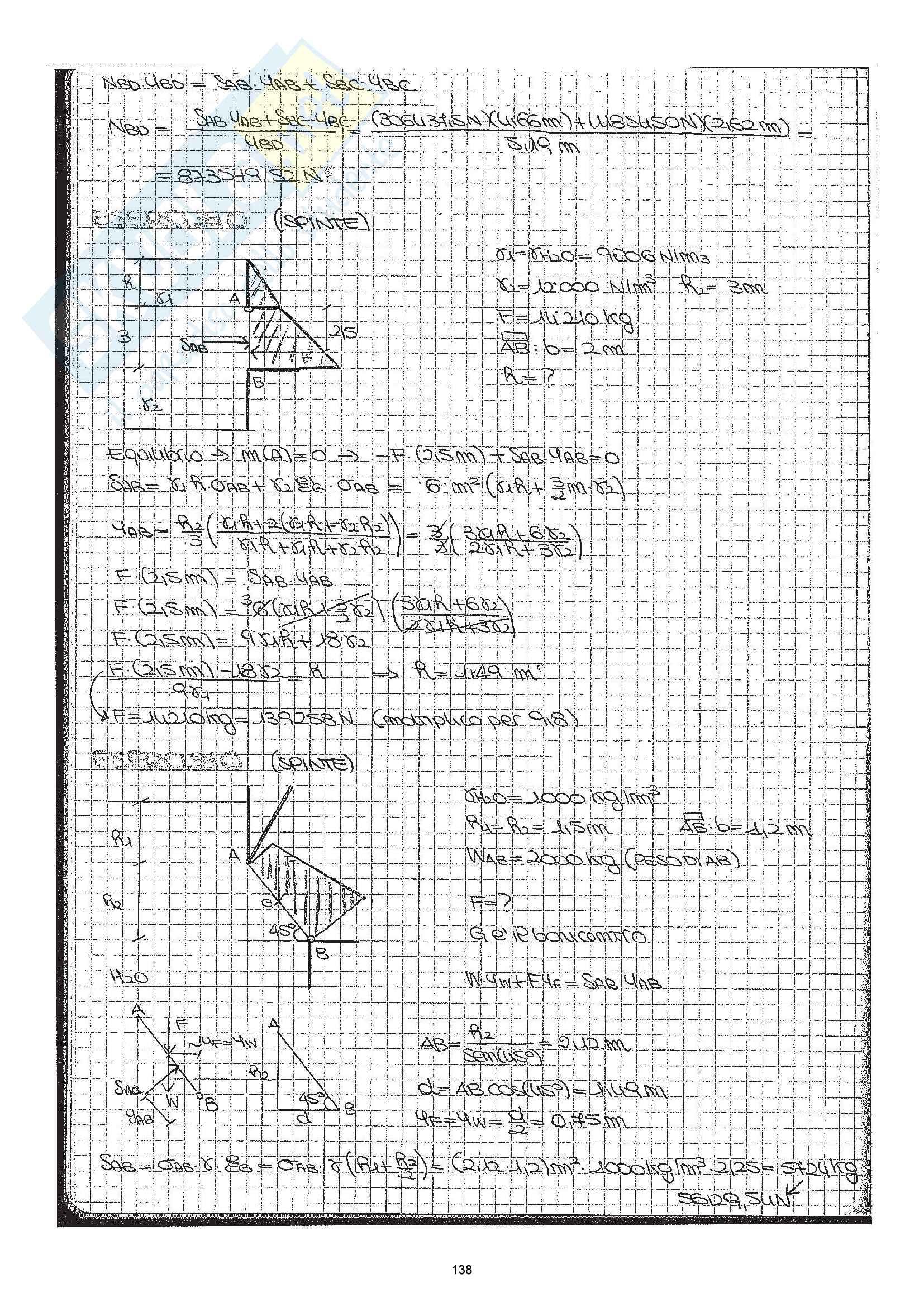 Esercizi Costruzioni Idrauliche Pag. 6