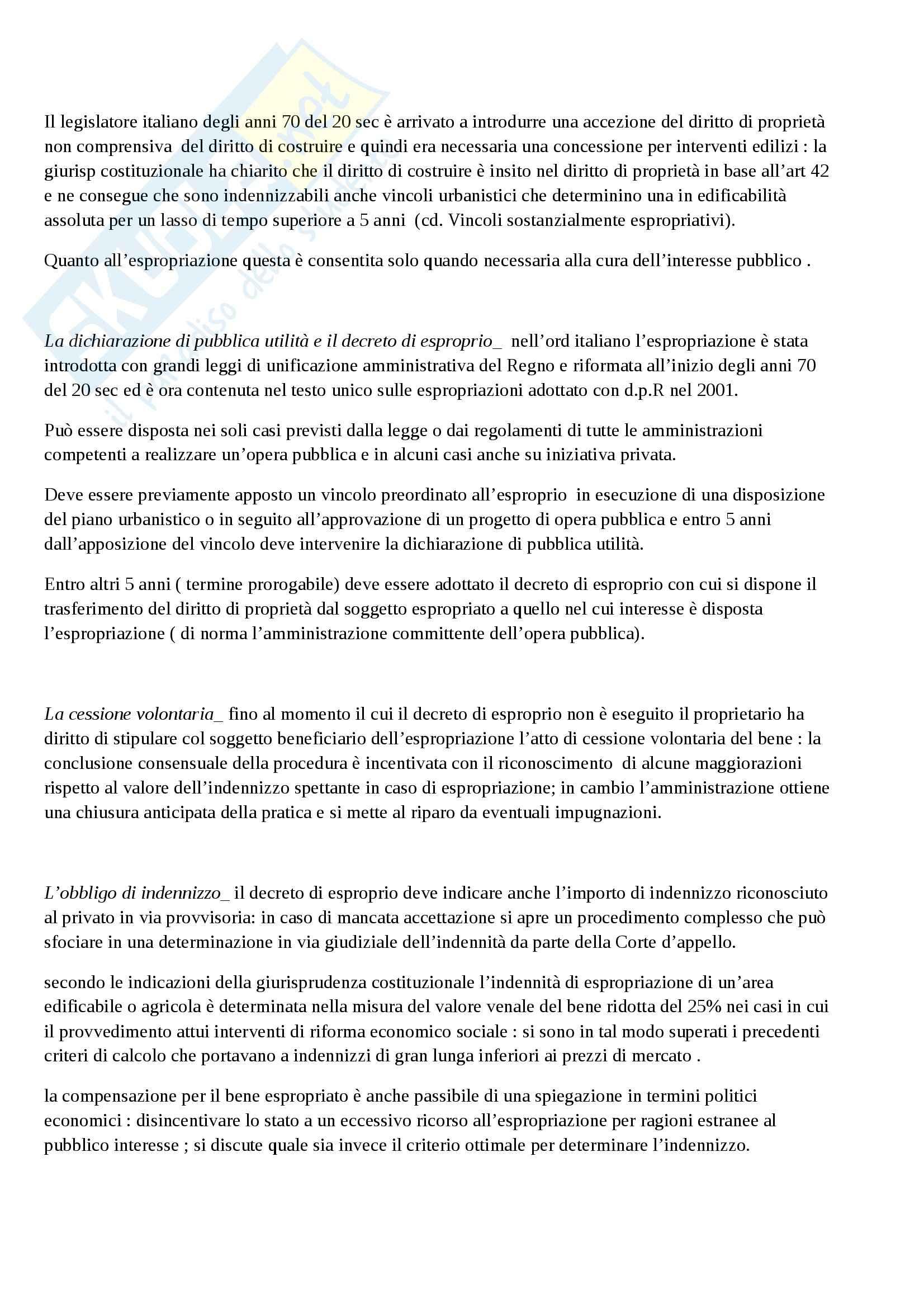 Riassunto esame diritto amministrativo, prof. Napolitano, libro consigliato La logica del diritto amministrativo, Napolitano Pag. 71