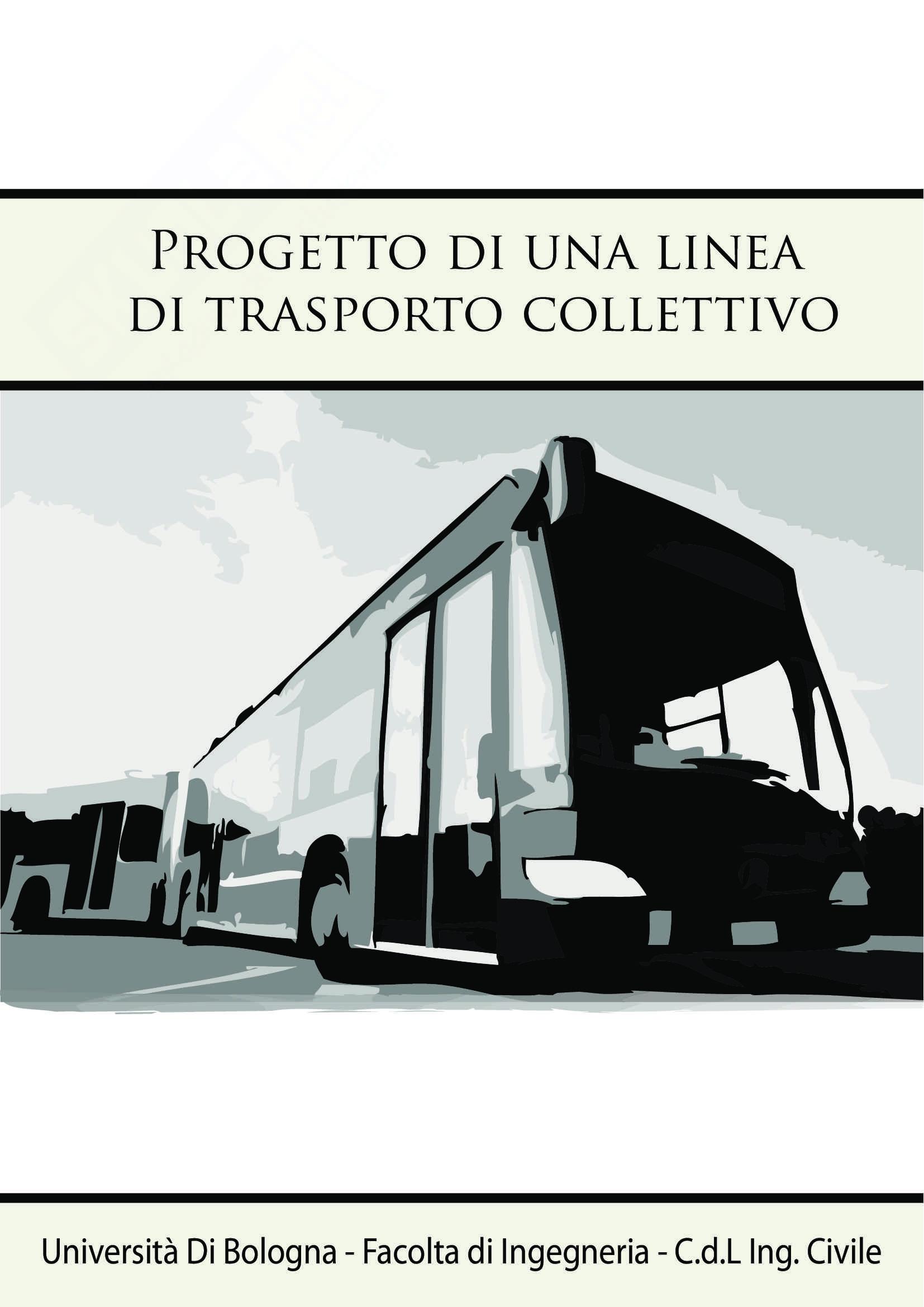 Progetto di una linea di trasporto collettivo