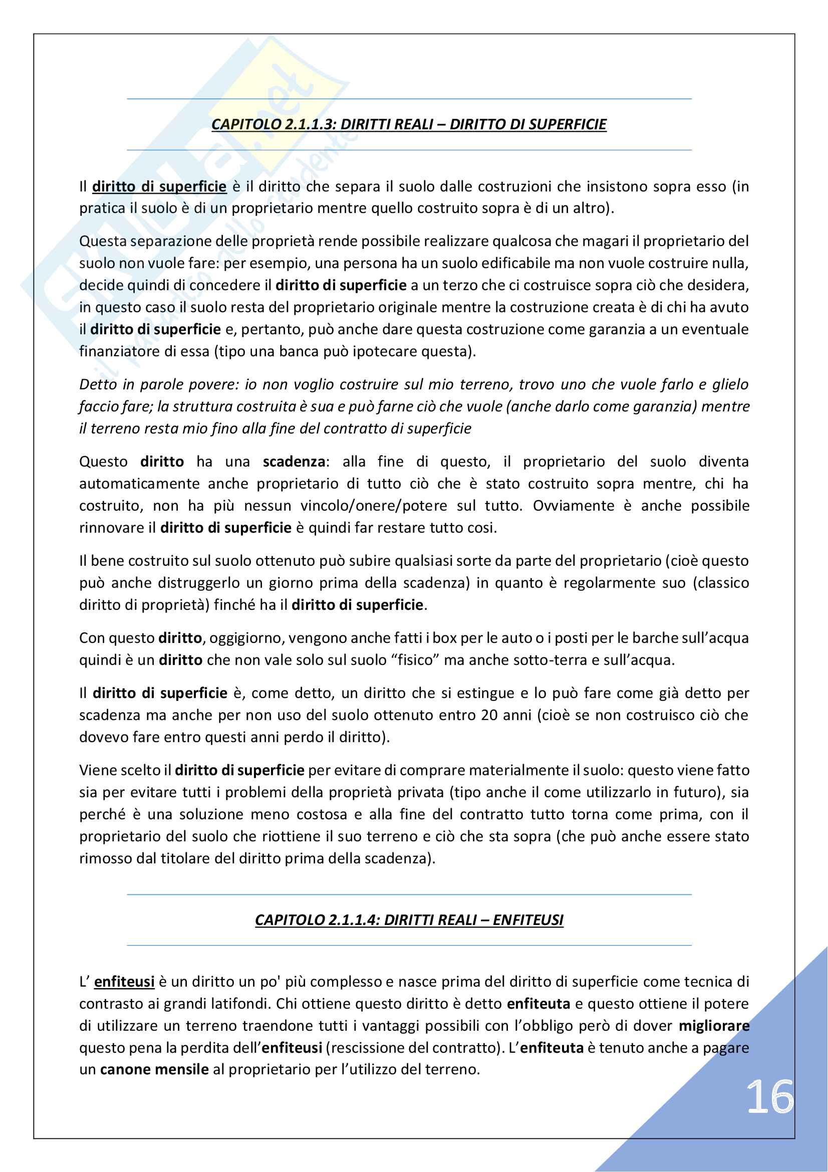 Istituzioni di Diritto Privato - 3° Anno Pag. 16